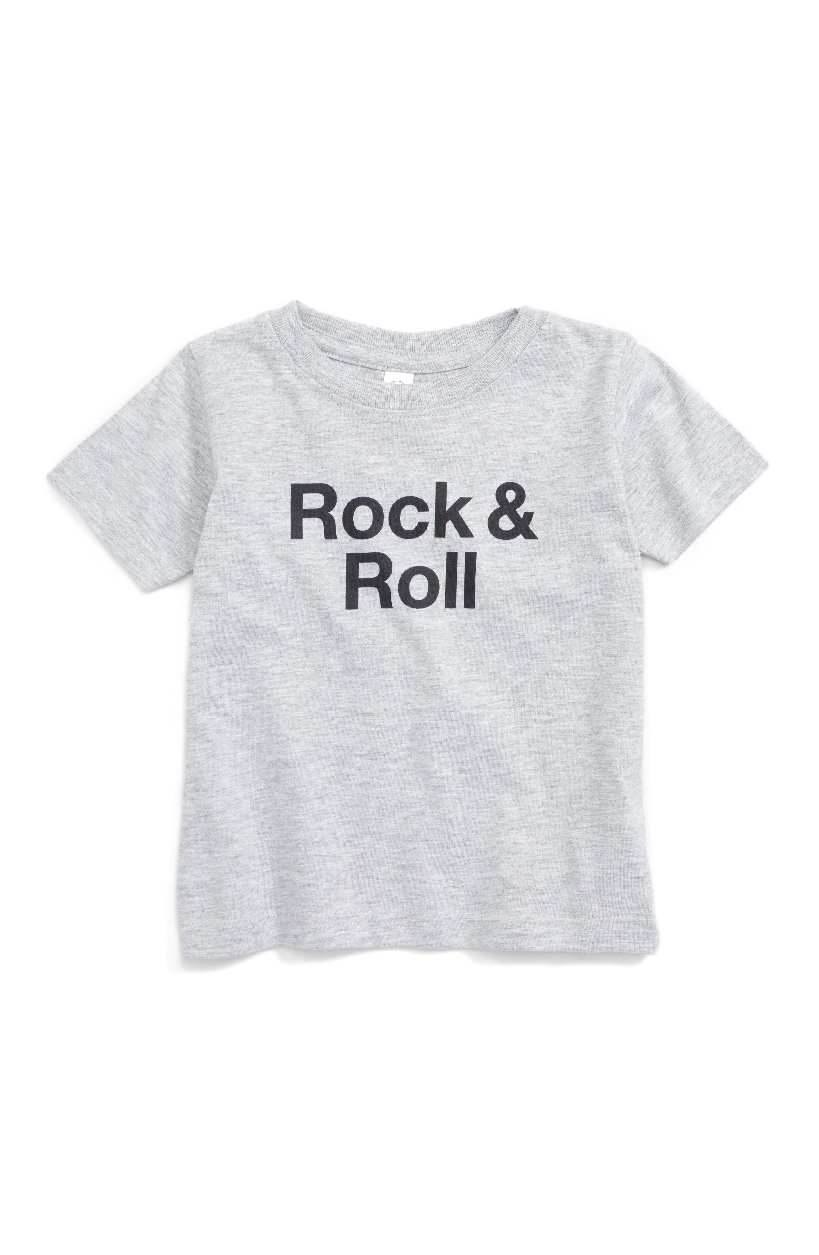 Alternate Image 1 Selected - Kid Dangerous Rock & Roll Graphic T-Shirt (Baby Boys)