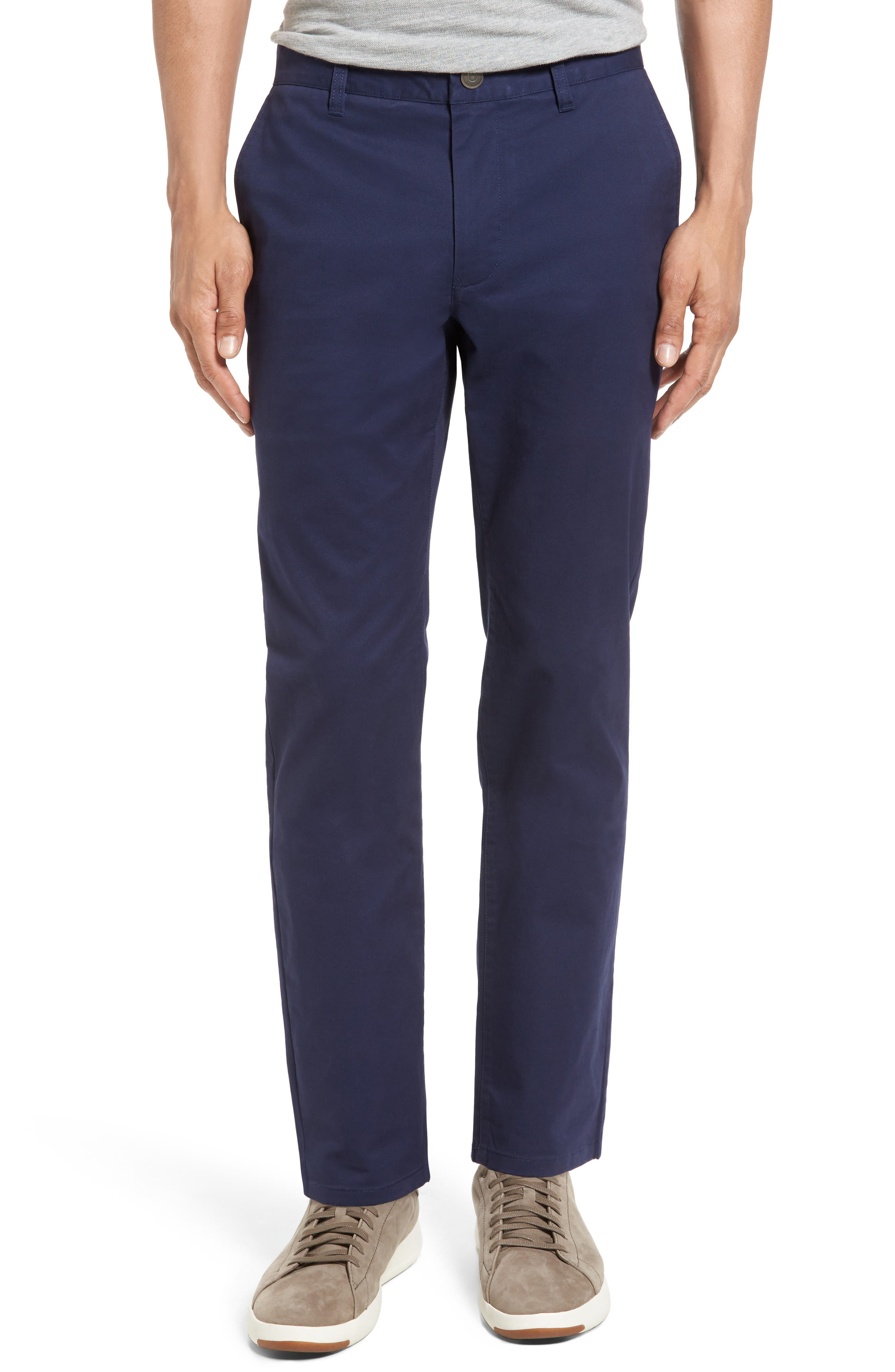 Alternate Image 1 Selected - Bonobos Slim Fit Stretch Washed Chinos