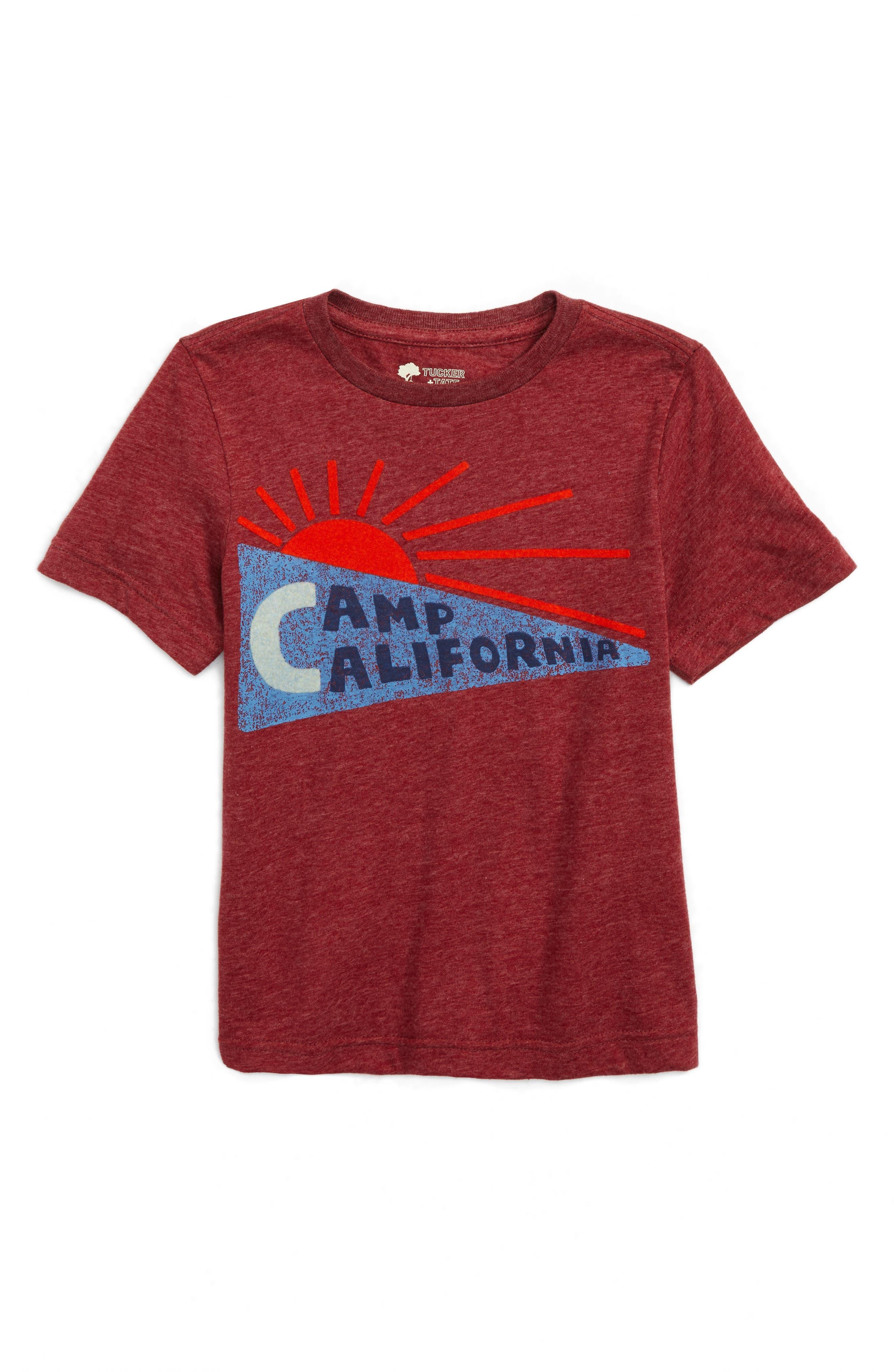 Tucker + Tate Flocked Logo T-Shirt (Toddler Boys & Little Boys)