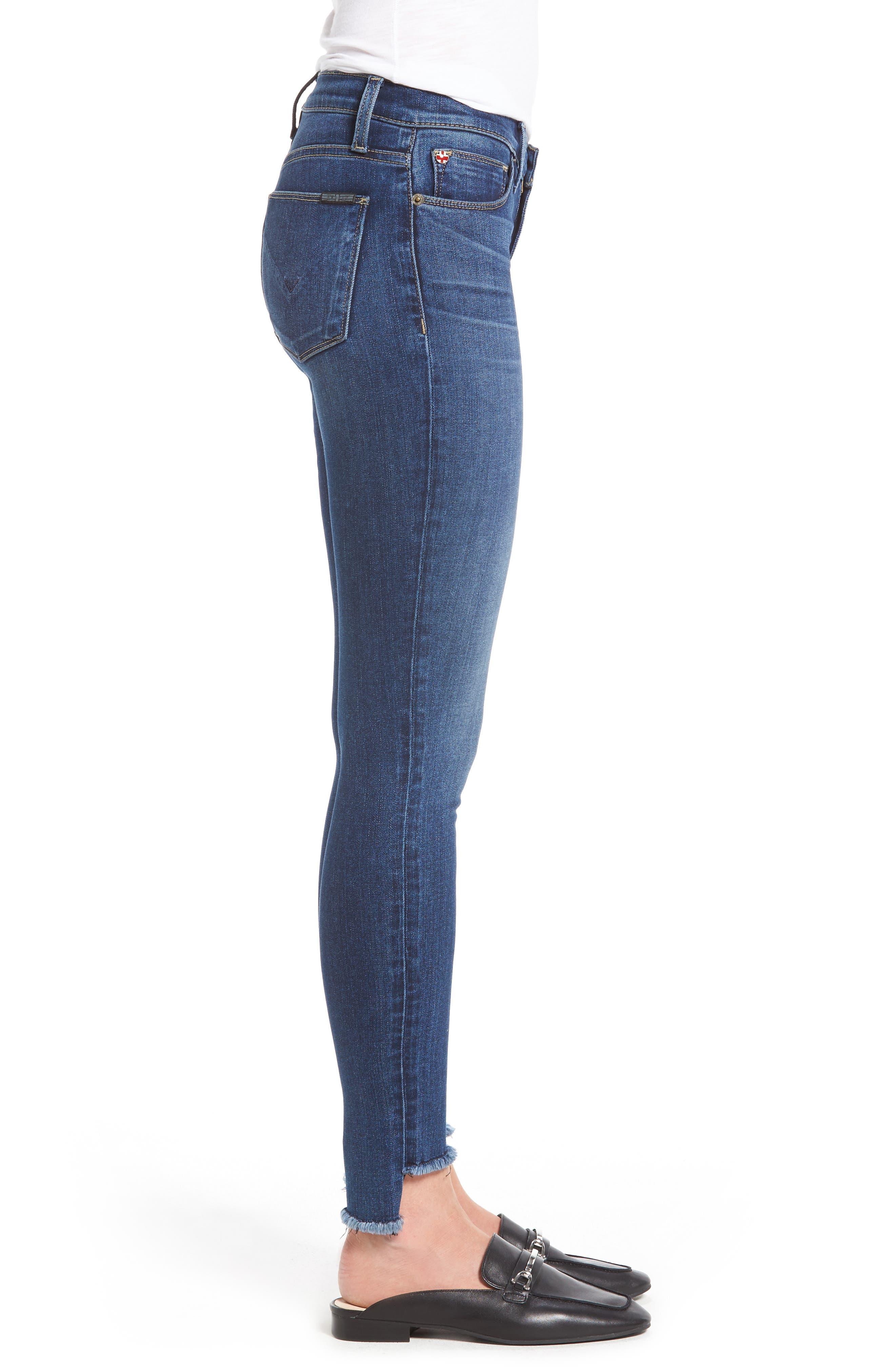 Alternate Image 3  - Hudson Jeans Colette Step Hem Skinny Jeans (Backbone)