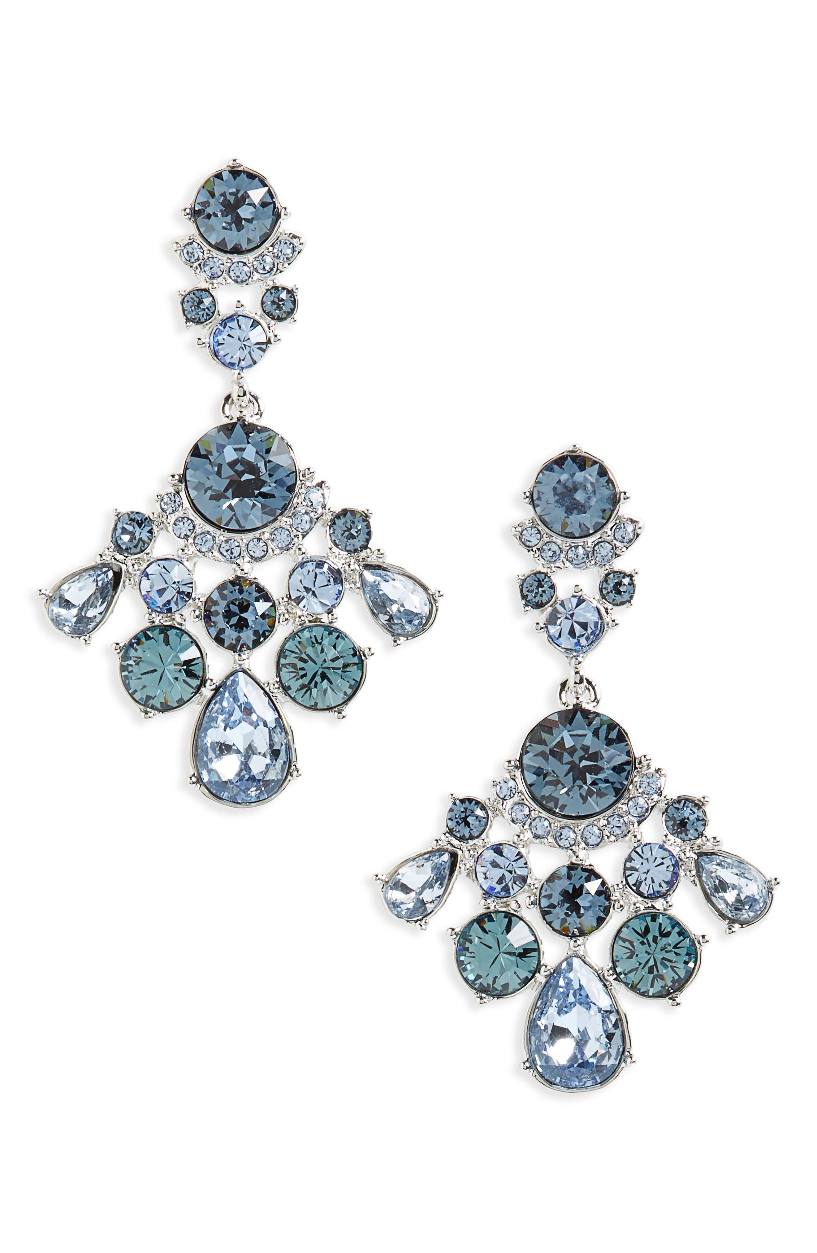 Givenchy Verona Crystal Drop Earrings