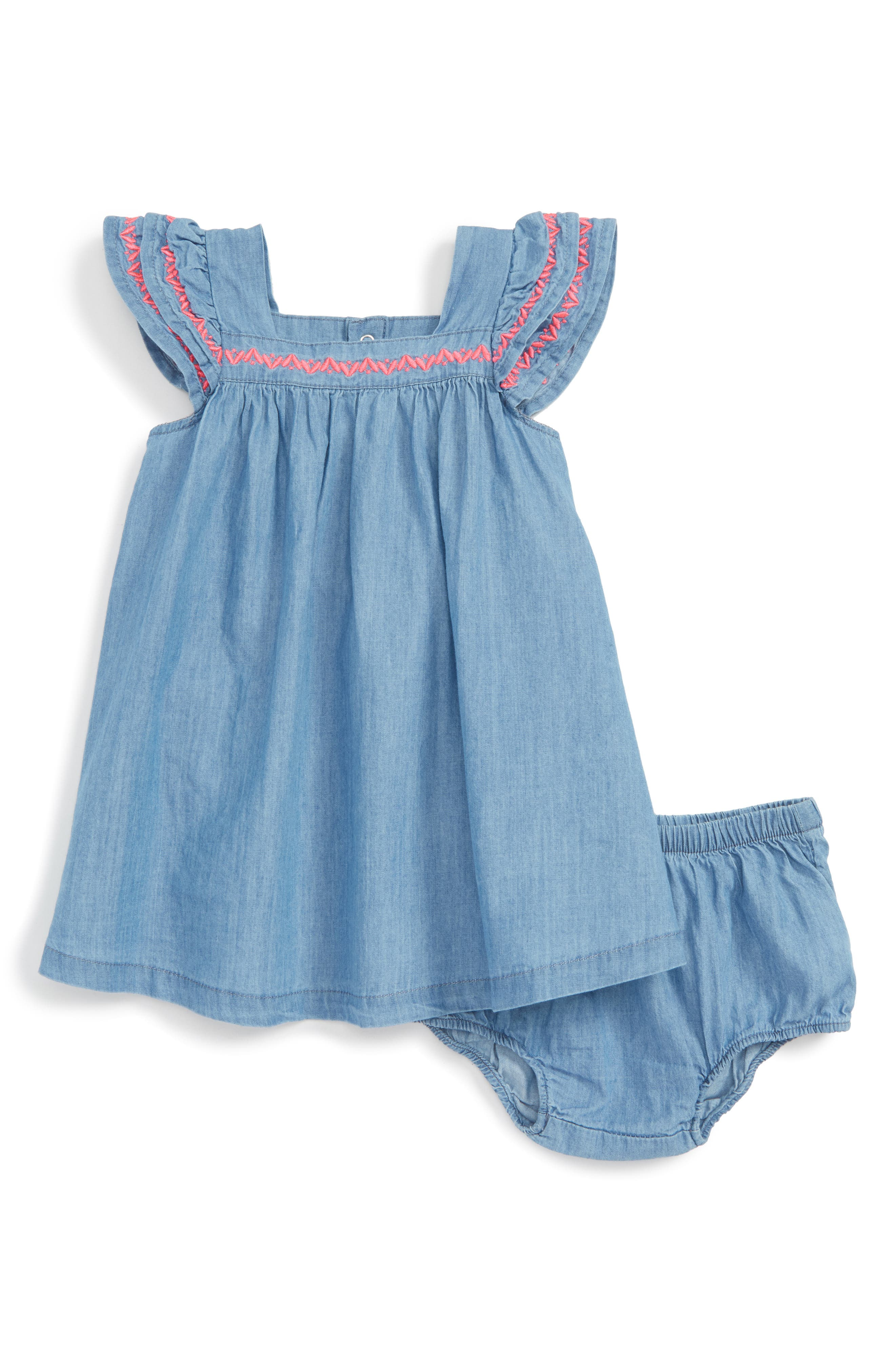 Tucker + Tate Chambray Dress (Baby Girls)