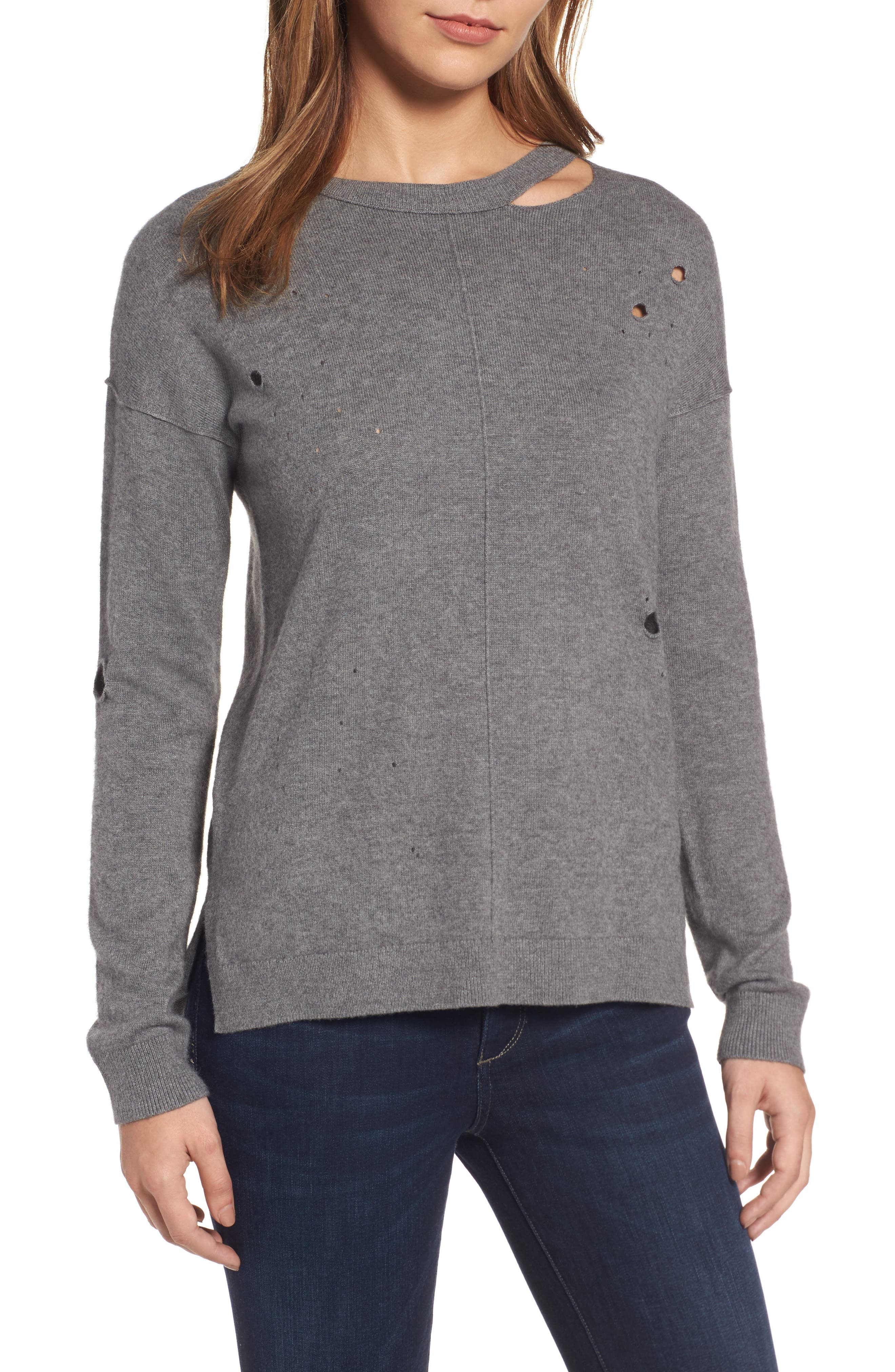Trouvé Distressed Sweater