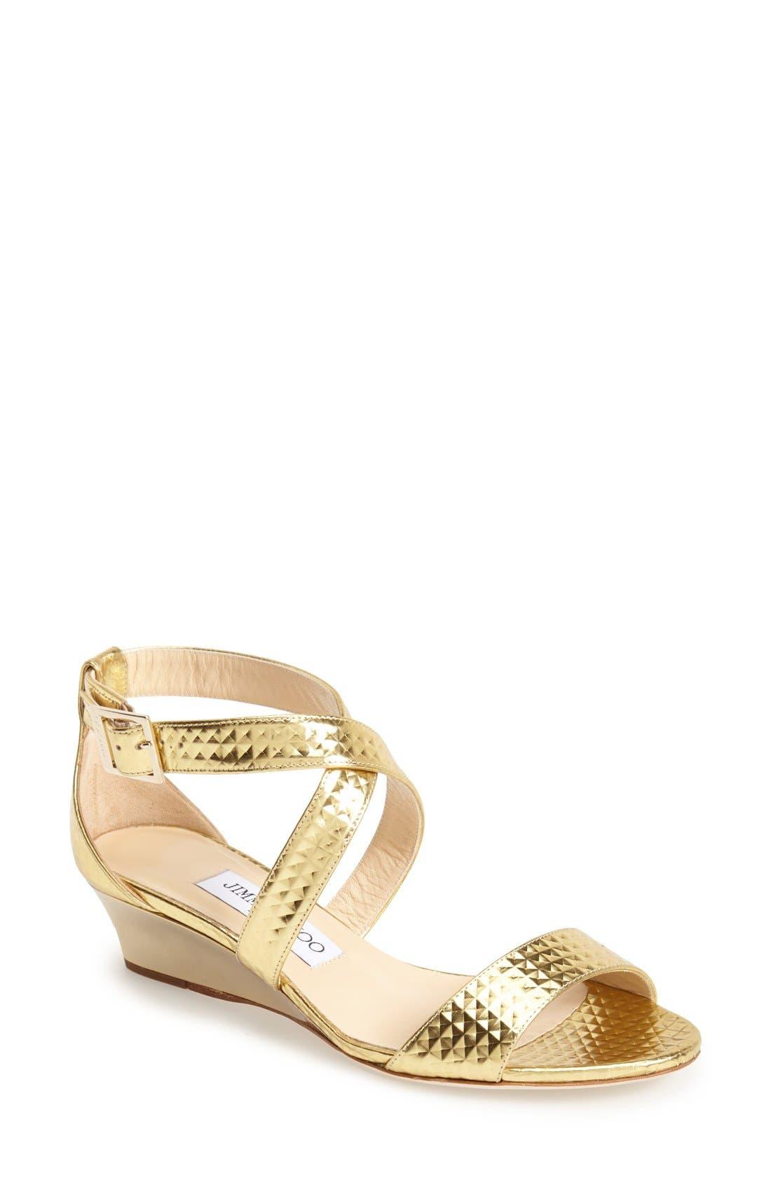 Alternate Image 1 Selected - Jimmy Choo 'Chiara' Leather Sandal (Women)