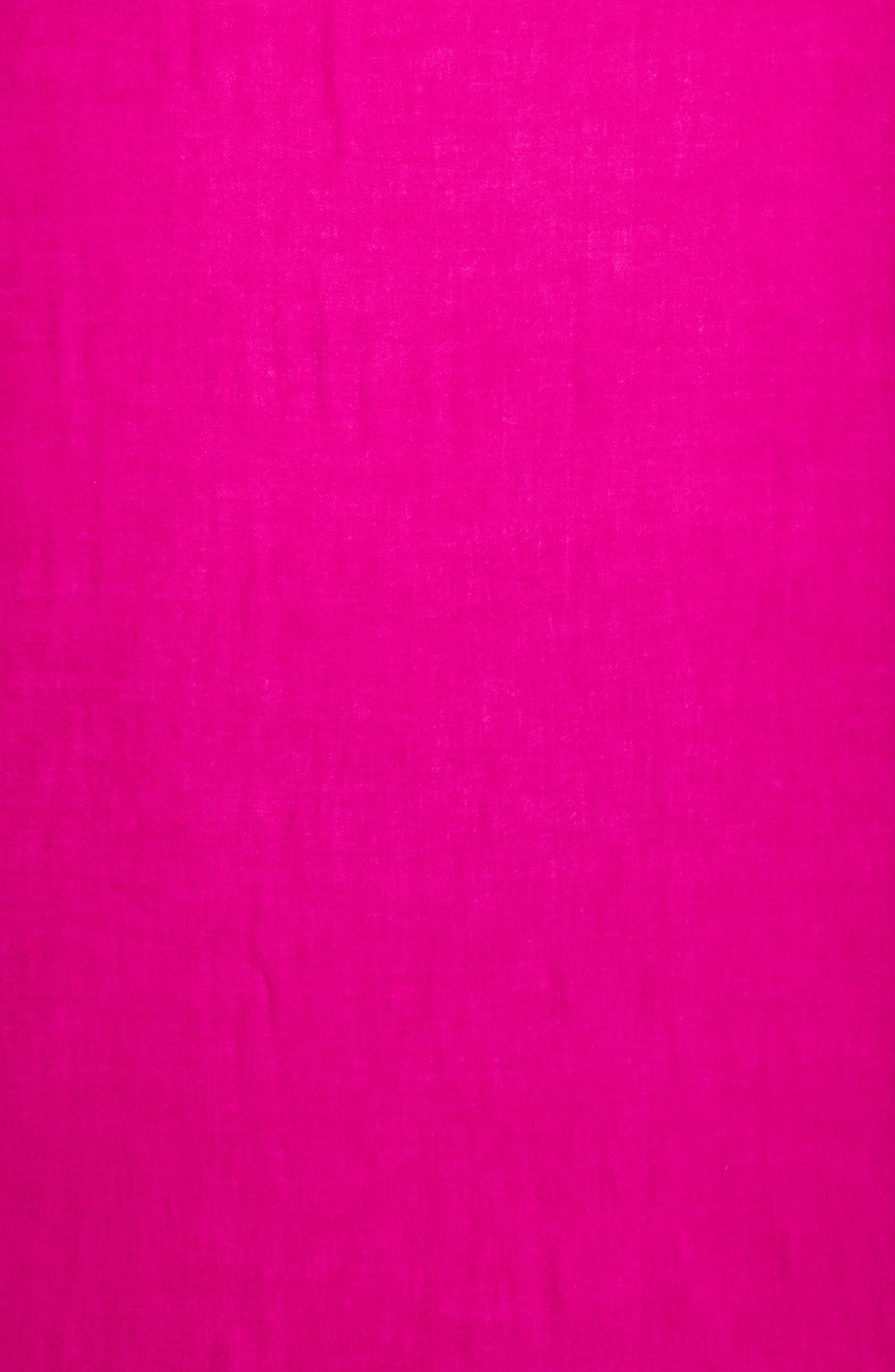 Alternate Image 4  - Nordstrom Tissue Weight Wool &Cashmere Scarf