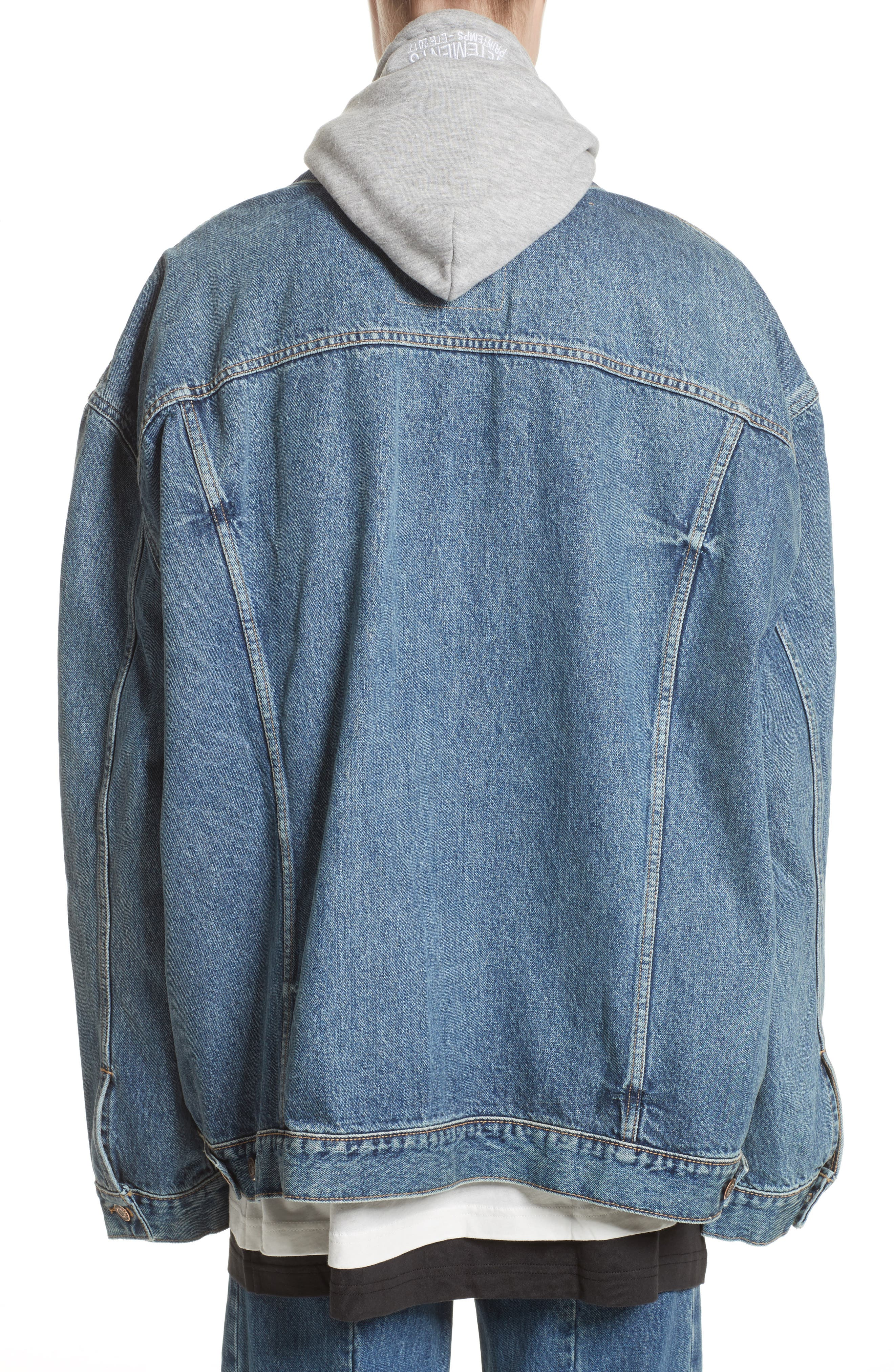 Alternate Image 2  - Vetements x Levi's® Denim Jacket
