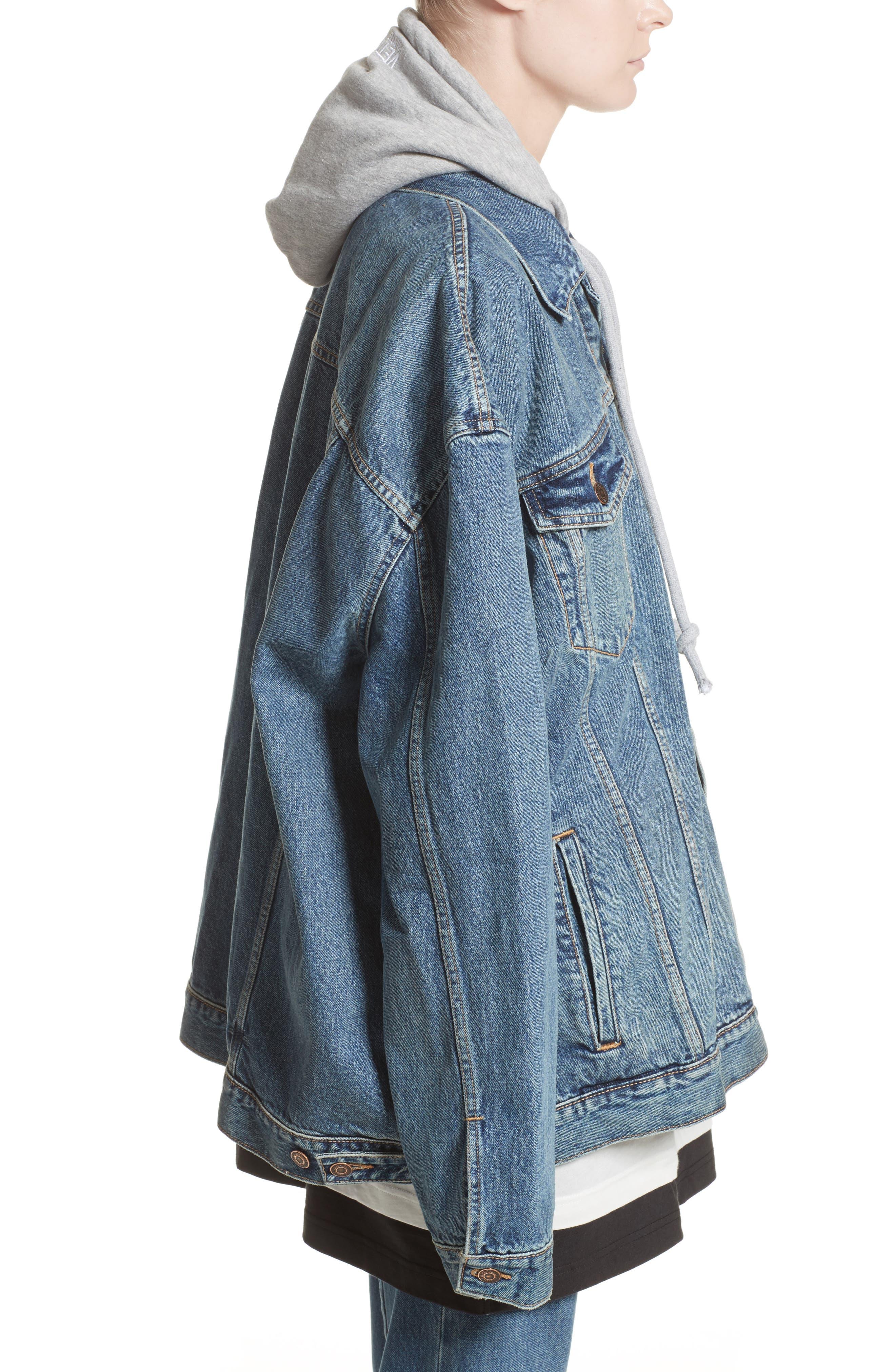 Alternate Image 4  - Vetements x Levi's® Denim Jacket