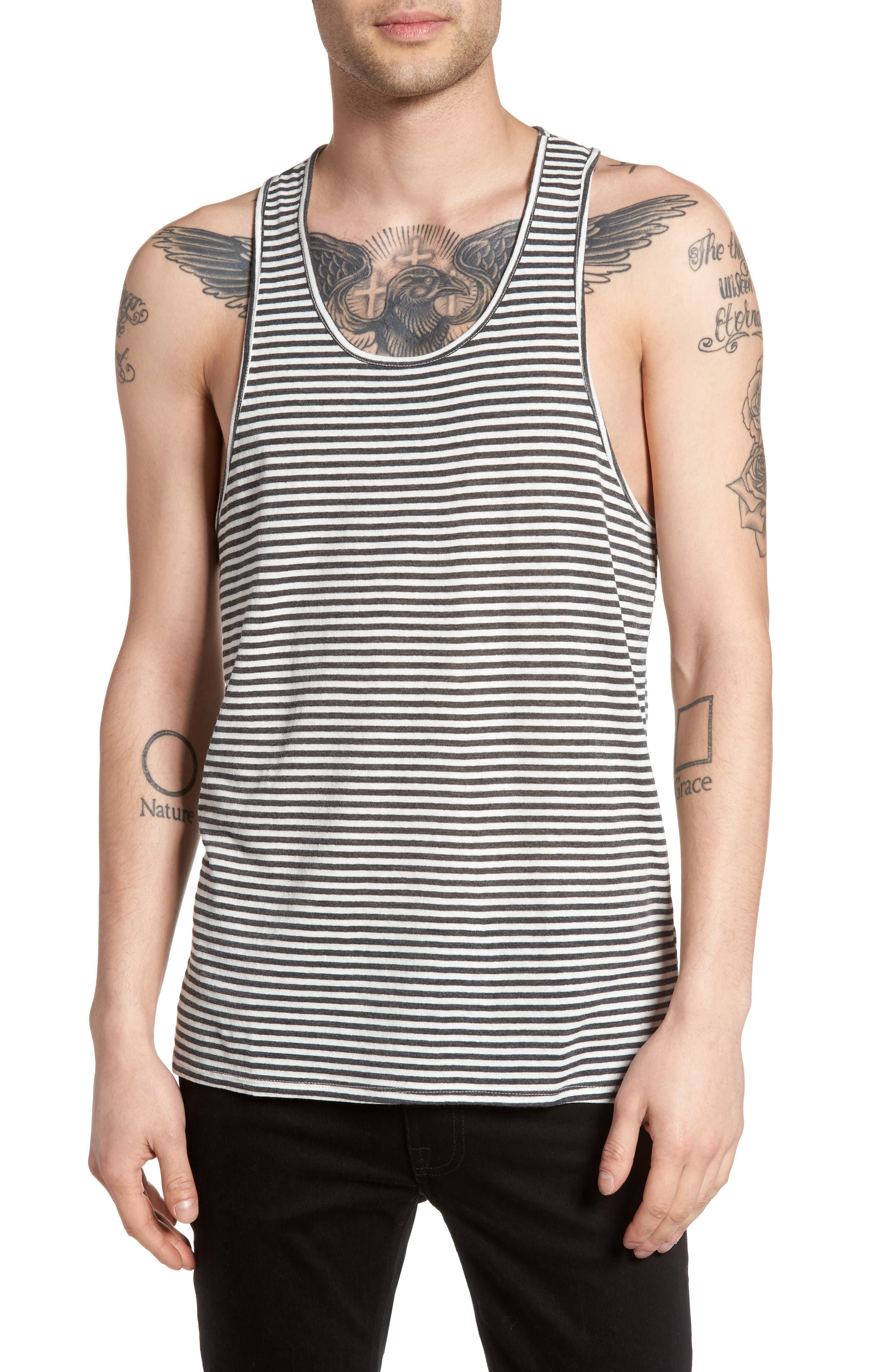 The Rail Striped Racer Tank (2 for $30)
