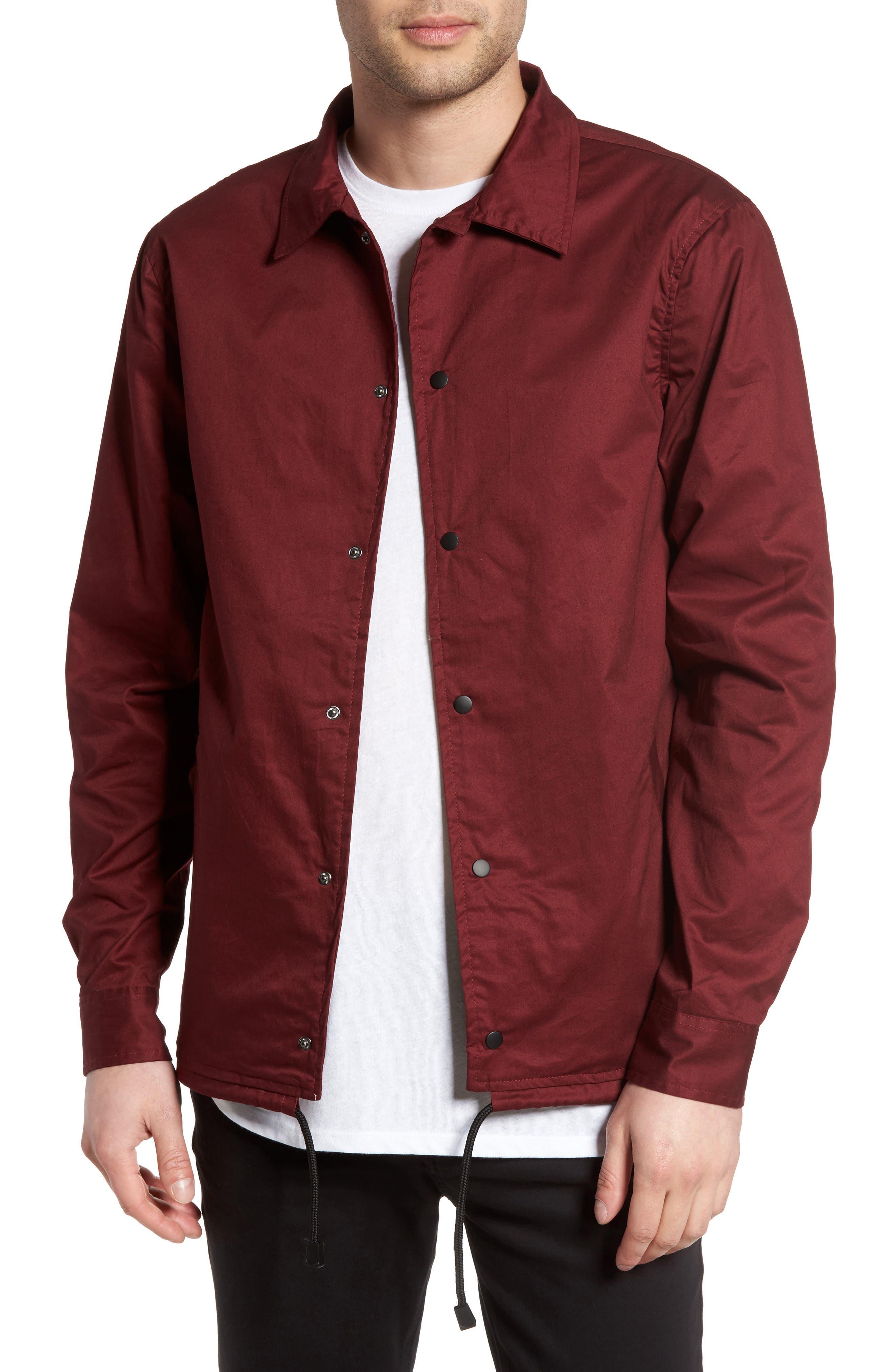 Z.A.K. Brand Sanford Slim Fit Coach's Jacket
