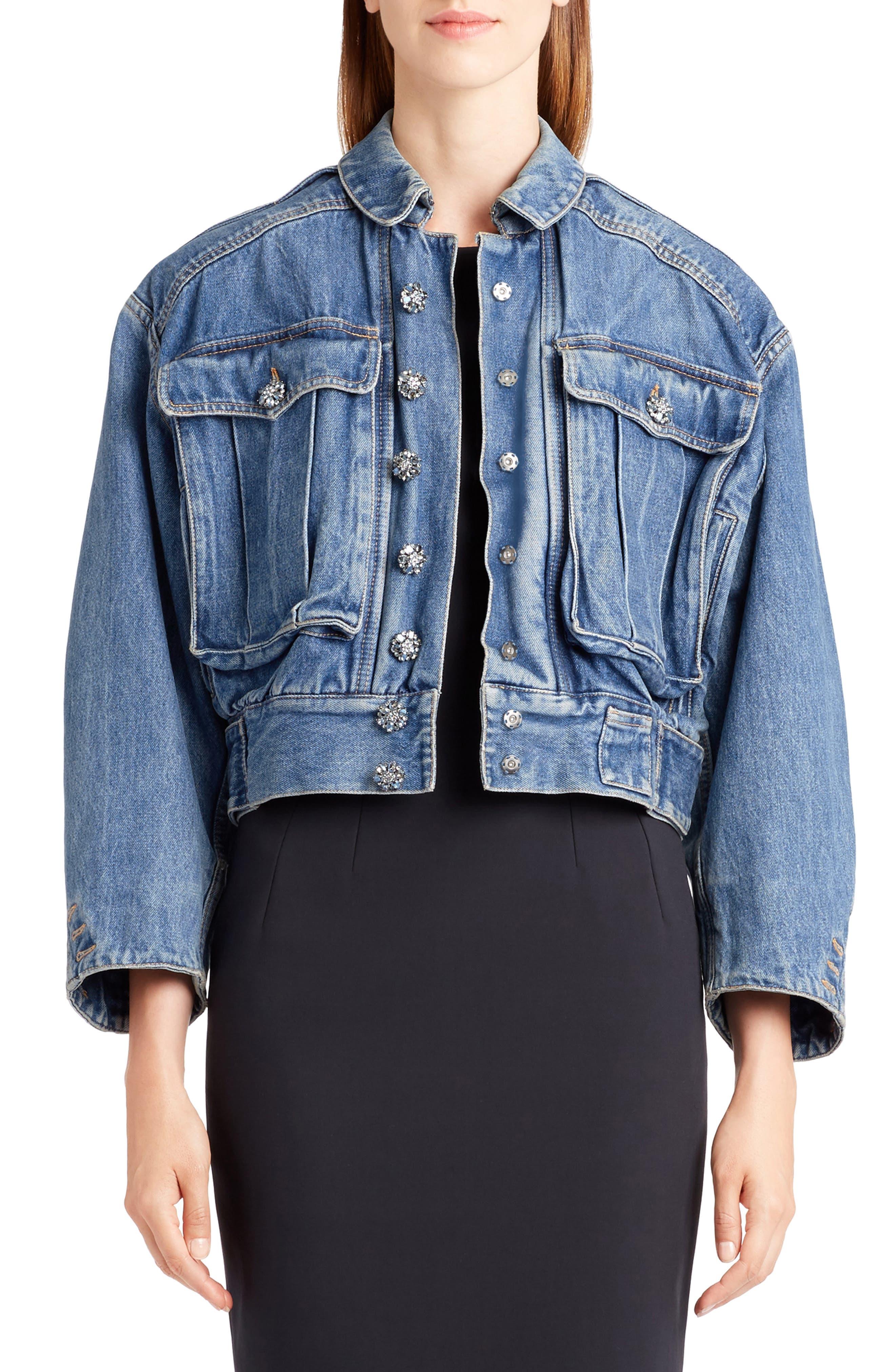 DOLCE&GABBANA Oversize Denim Jacket
