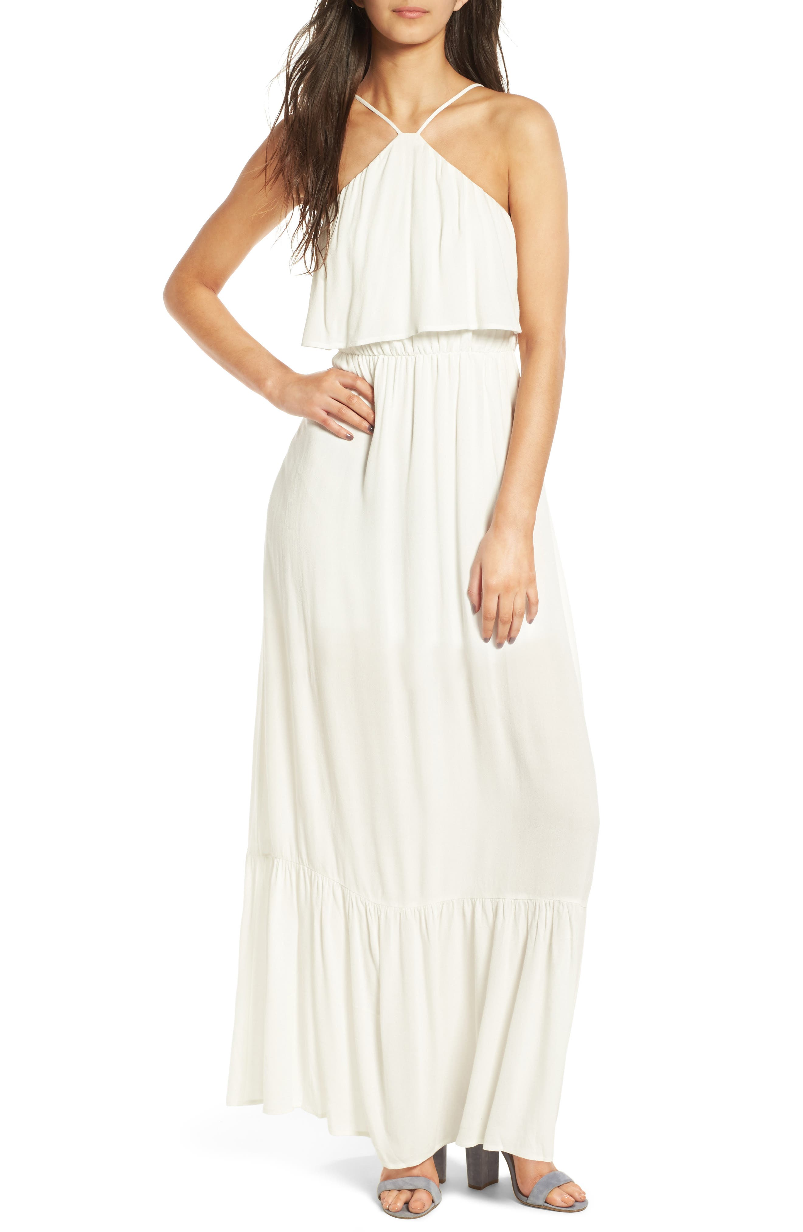 Dee Elly Popover Maxi Dress
