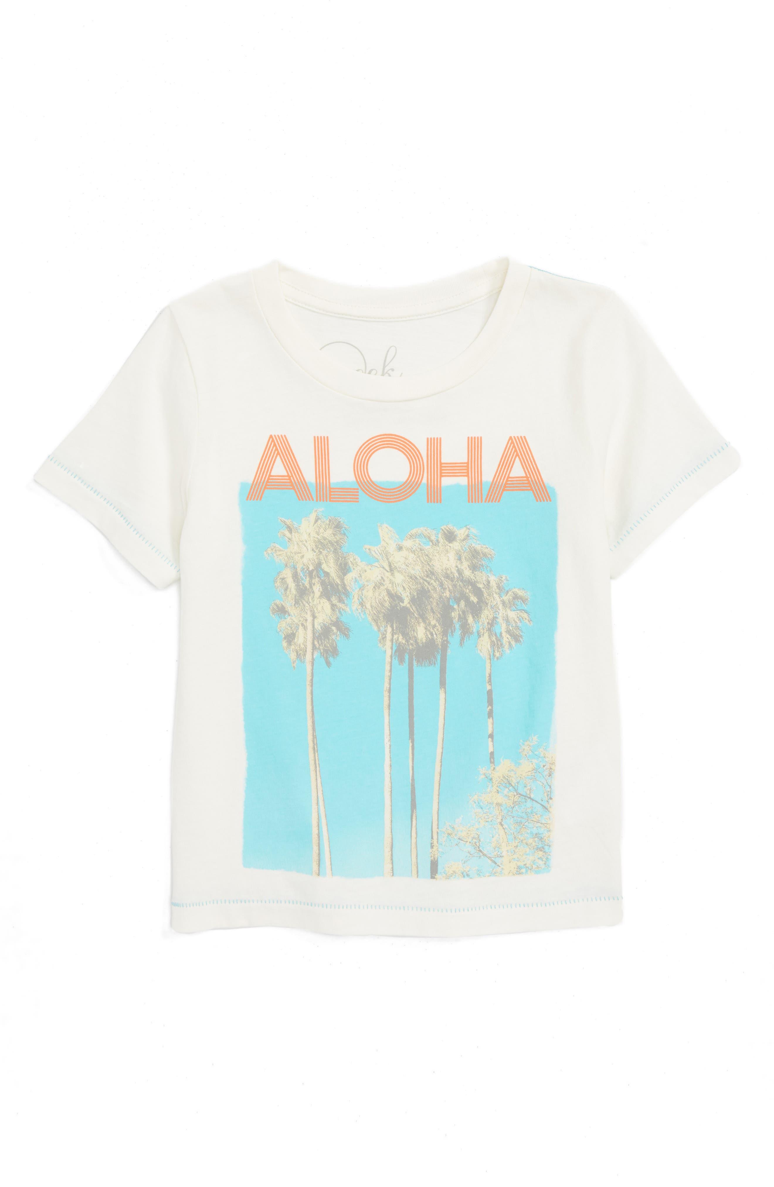 Peek Aloha Graphic T-Shirt (Toddler Boys, Little Boys & Big Boys)