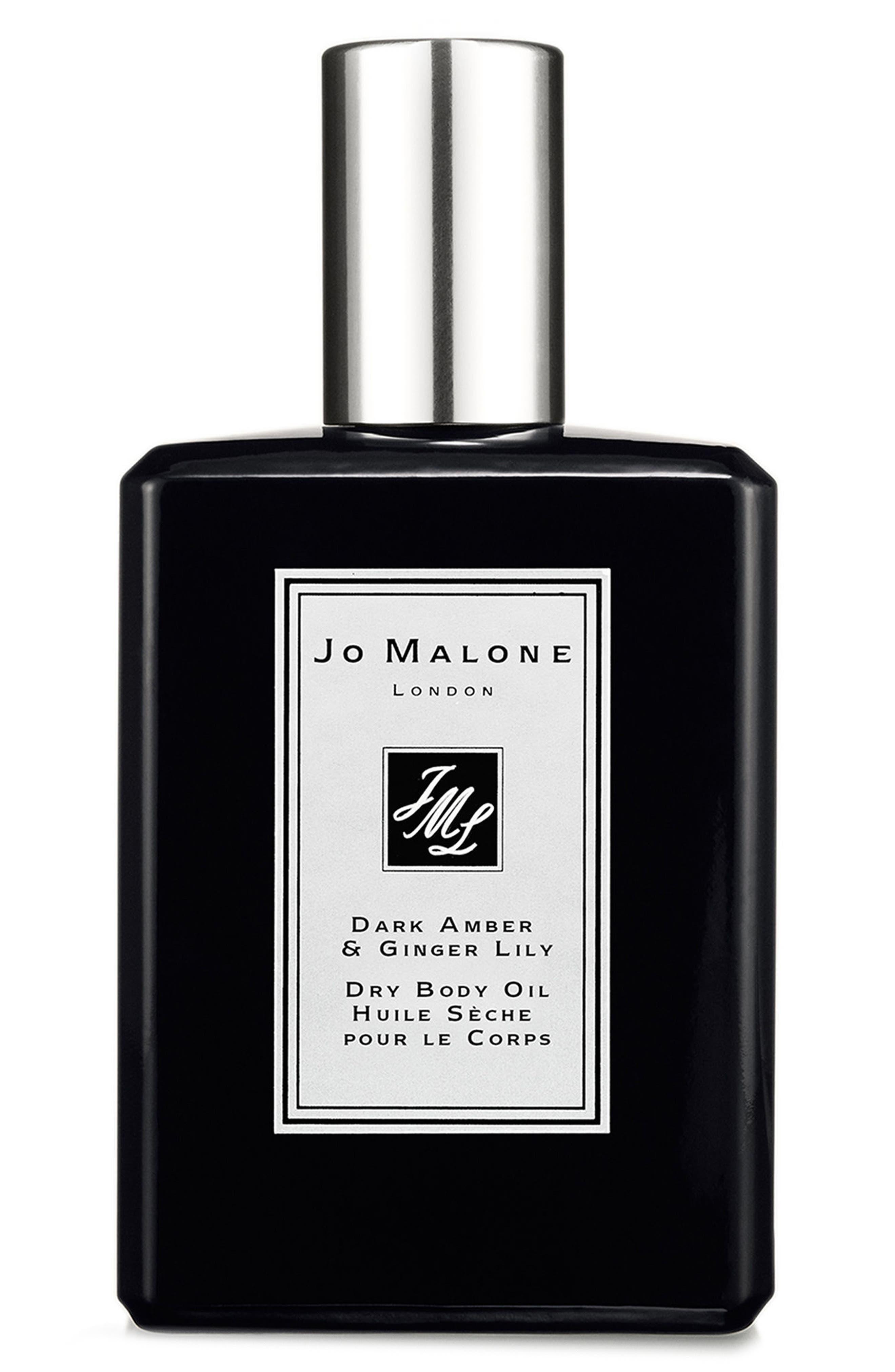Main Image - Jo Malone London™ Dark Amber & Ginger Lily Dry Body Oil