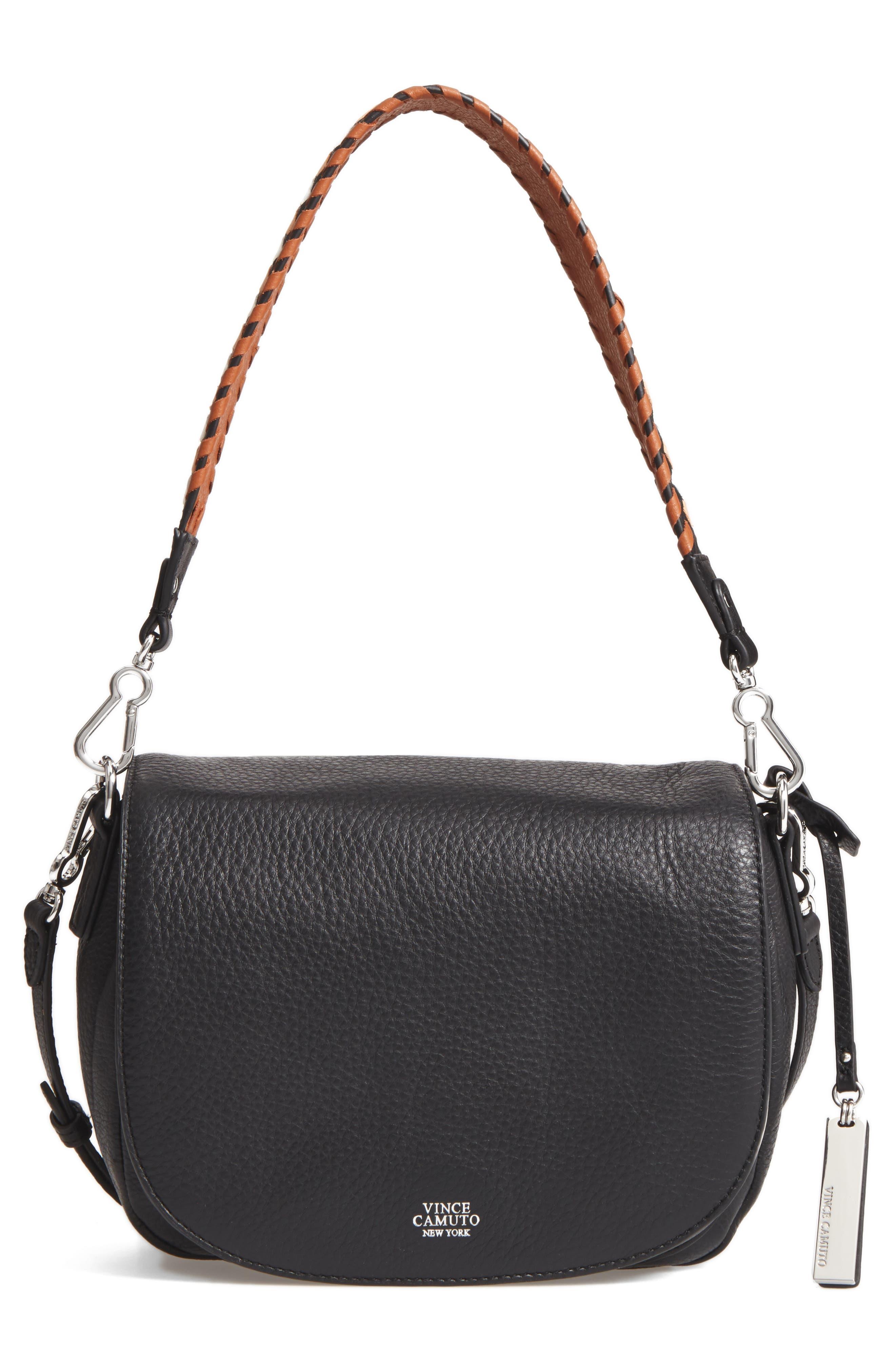 Vince Camuto Nadja Leather Shoulder Bag