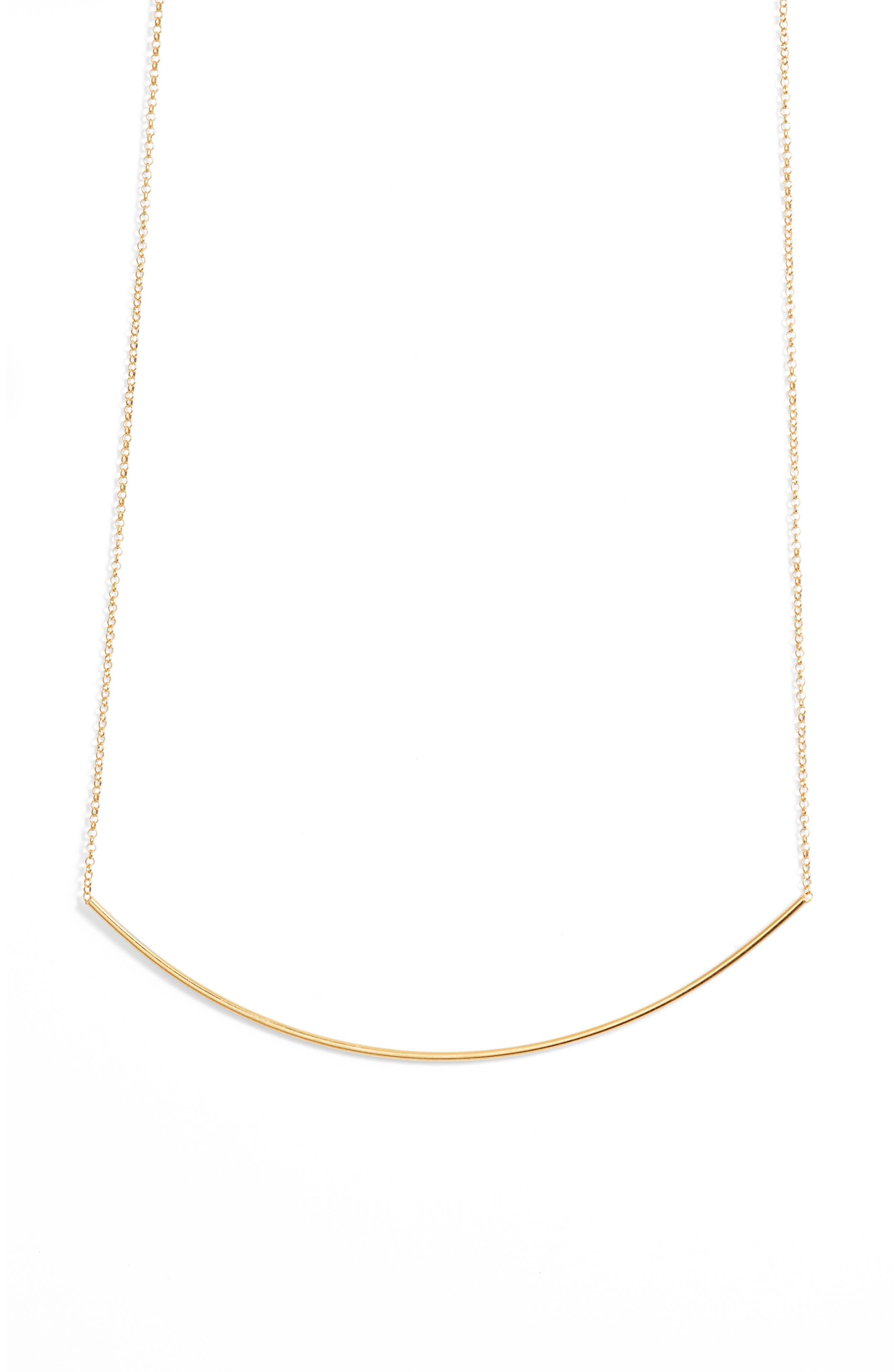 Alternate Image 3  - Dogeared Balance Bar Choker Necklace