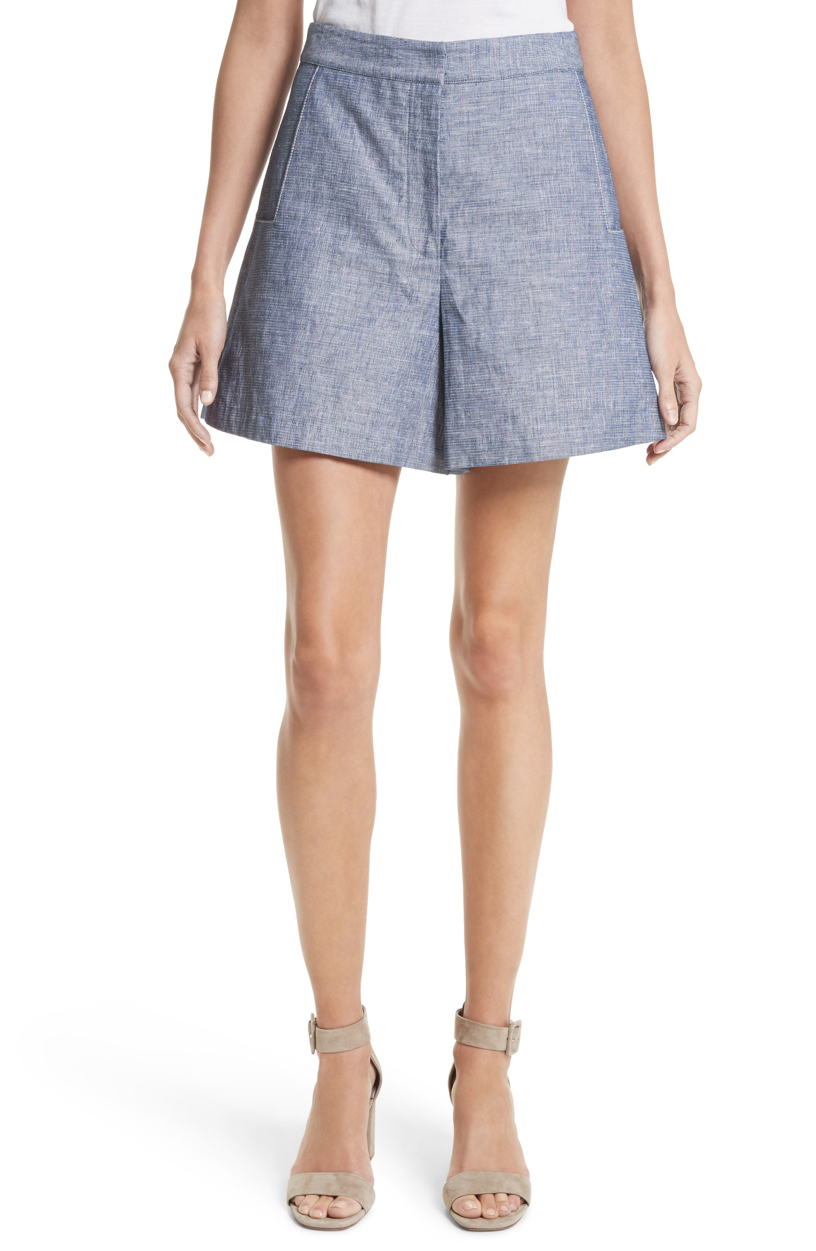 GREY Jason Wu High Waist Double Face Denim Shorts
