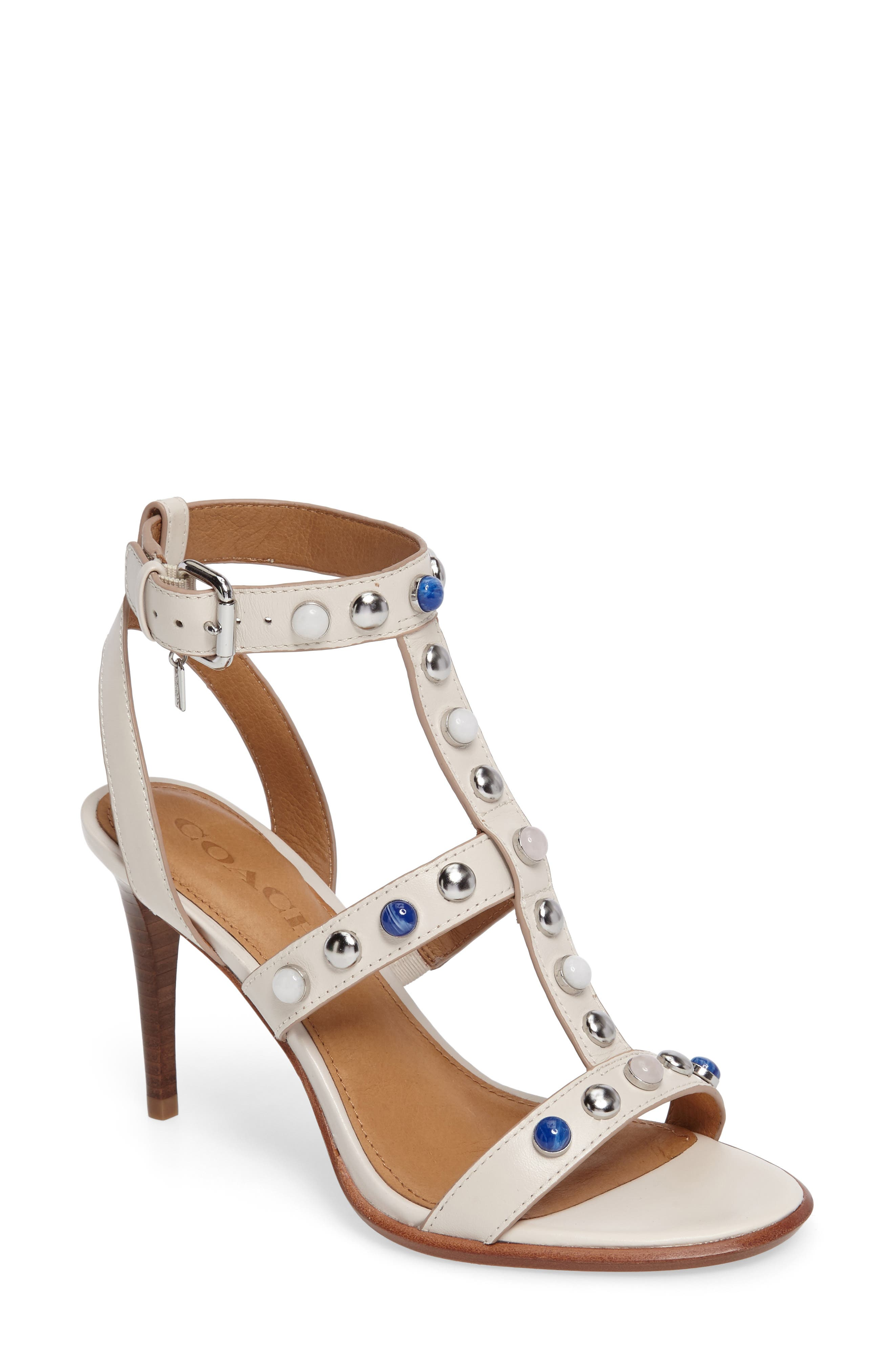 COACH Isabell T-Strap Sandal (Women)