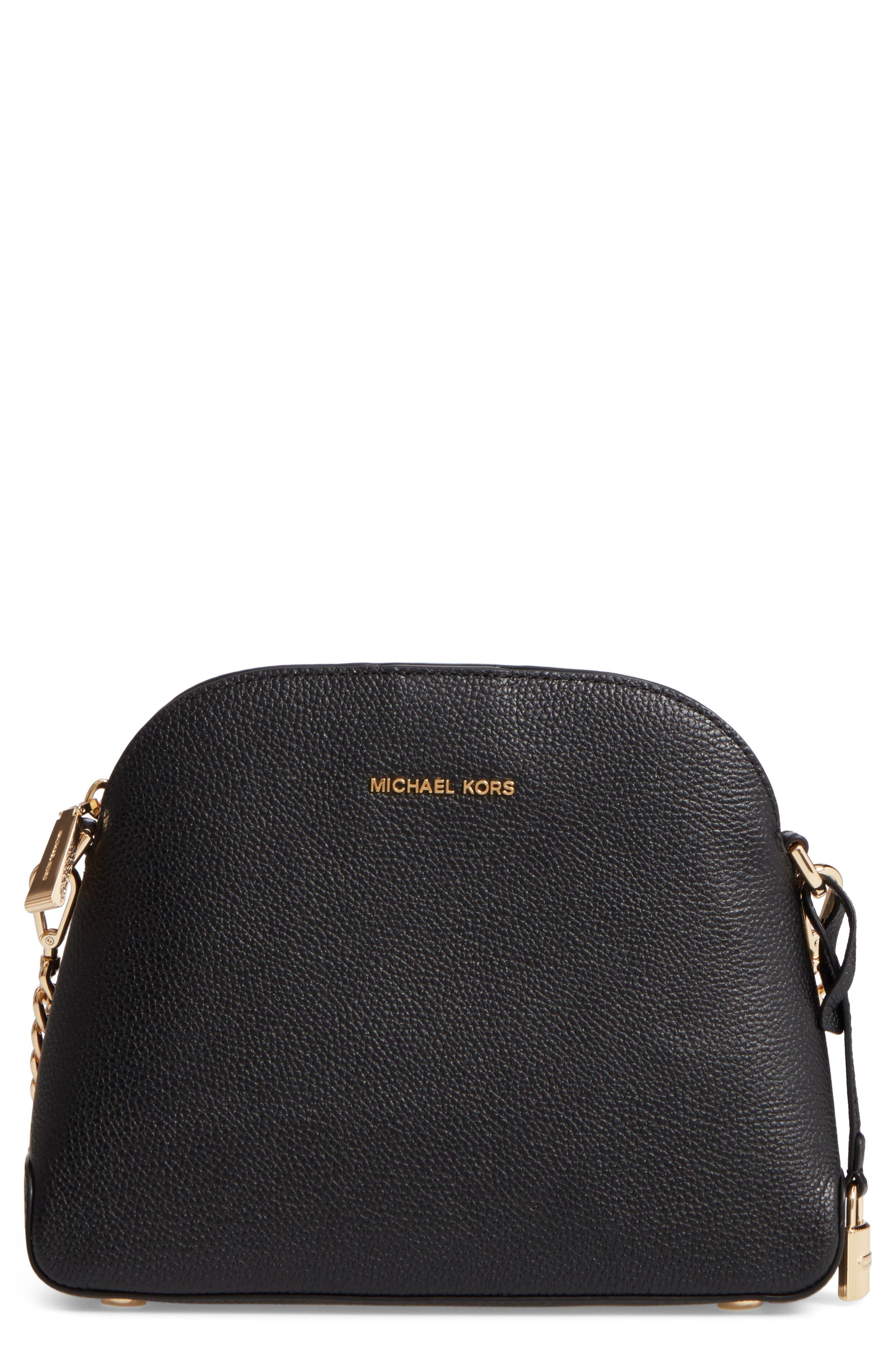 MICHAEL Michael Kors Medium Mercer Leather Messenger Bag