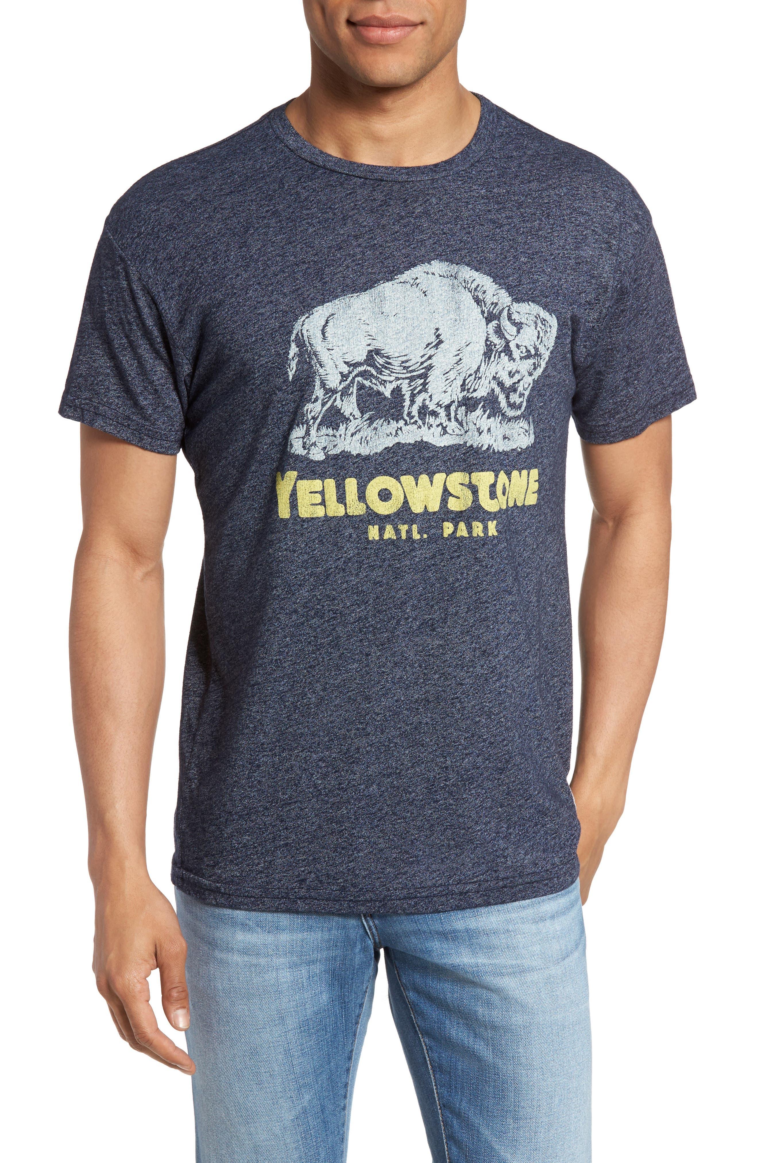 Retro Brand Yellowstone Graphic T-Shirt