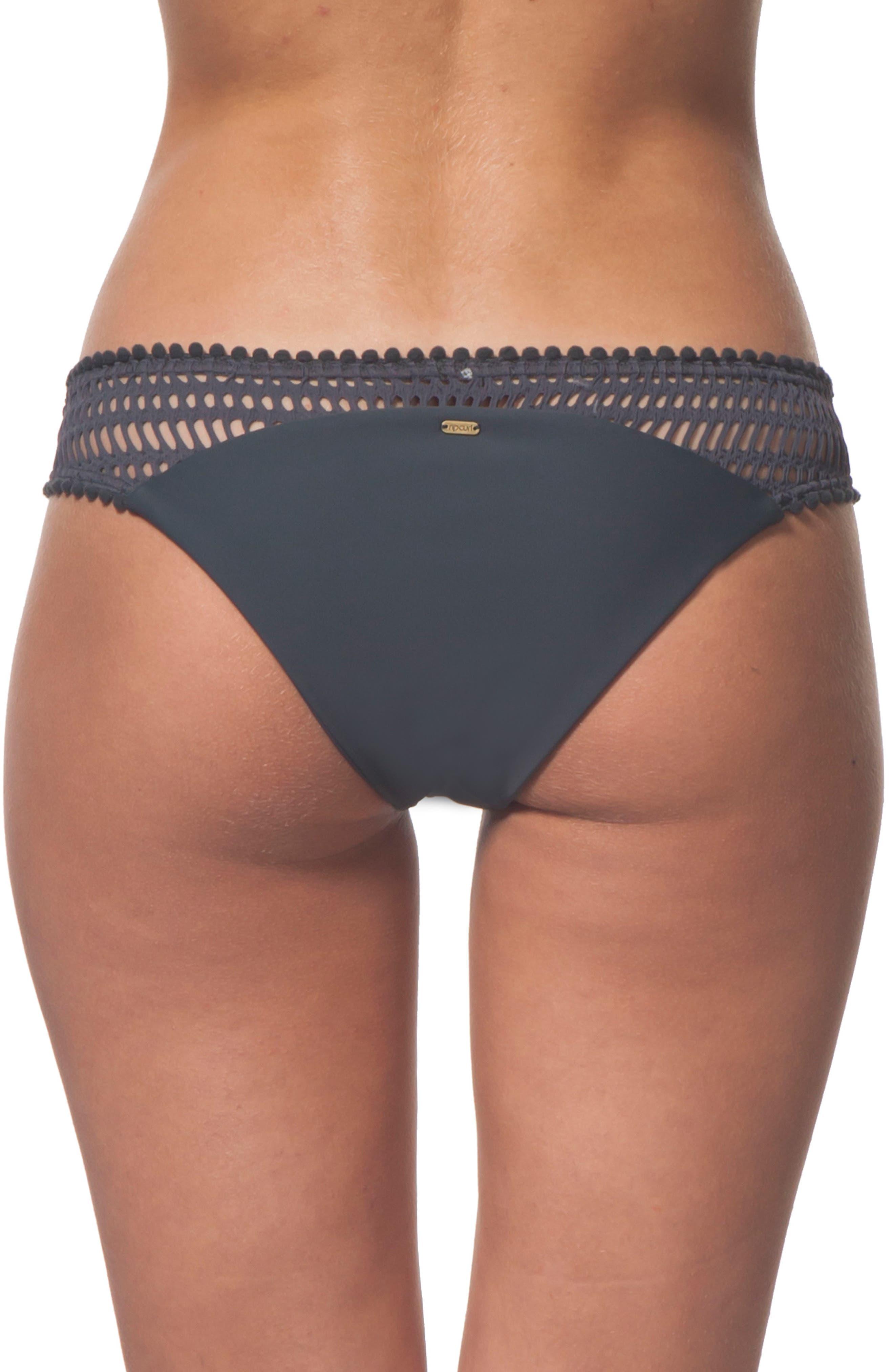 Rip Curl Designer Surf Mesh Hipster Bikini Bottoms