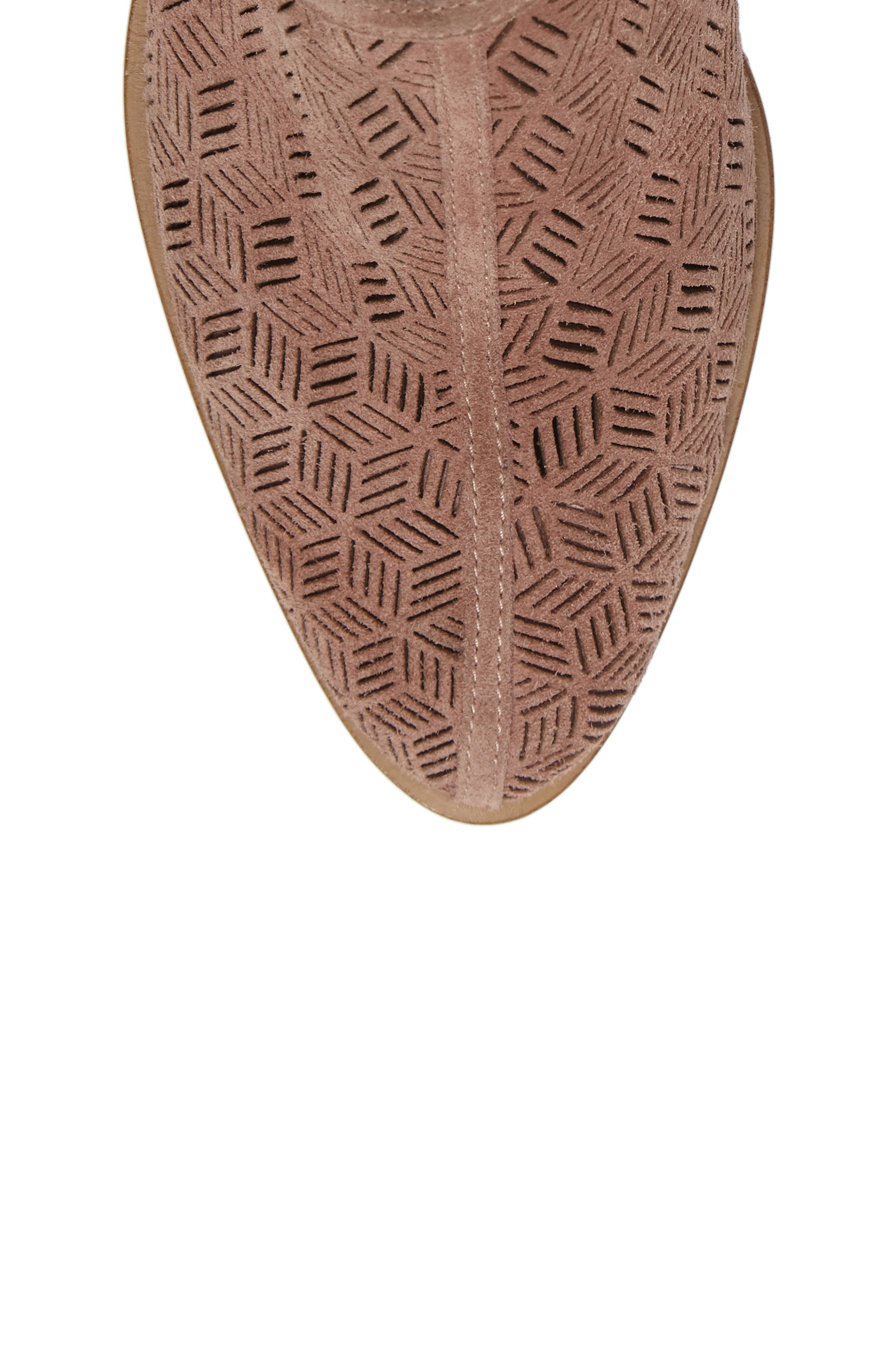 Alternate Image 5  - 1.STATE Iddah Perforated Cutaway Bootie (Women)