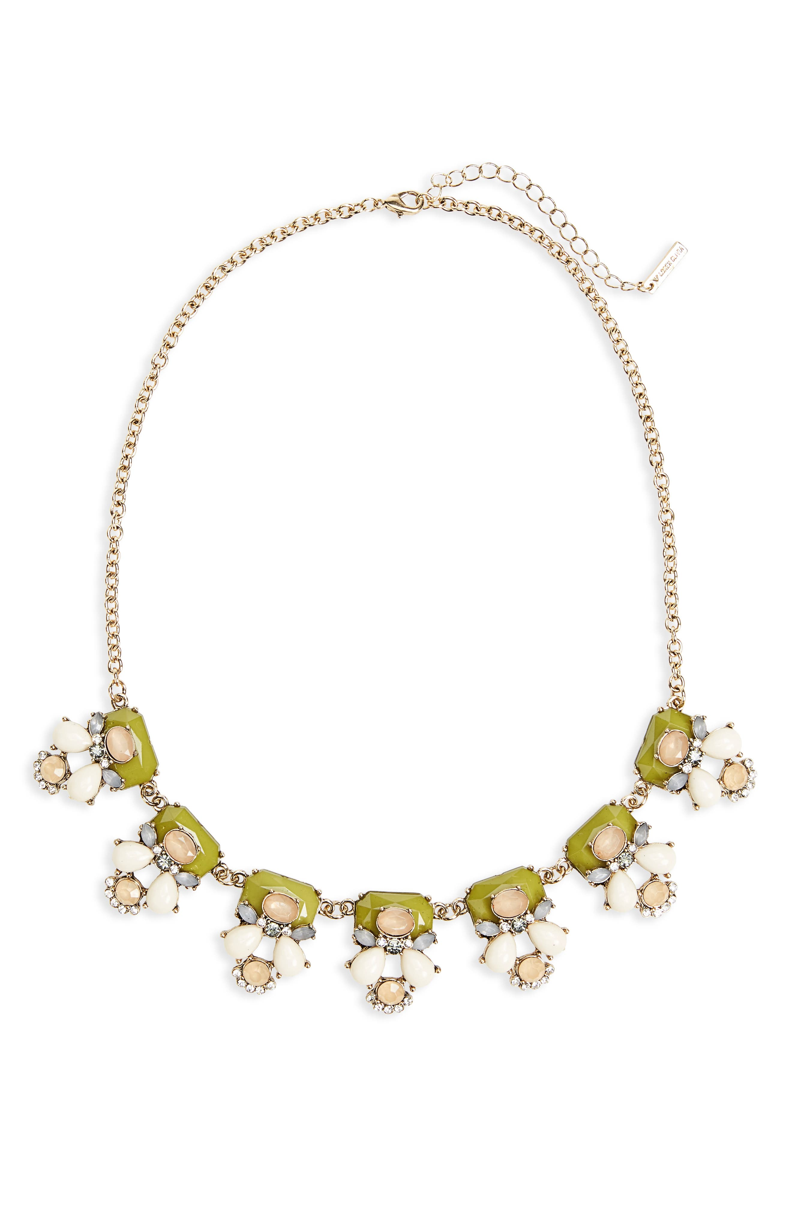 Loren Olivia Statement Necklace