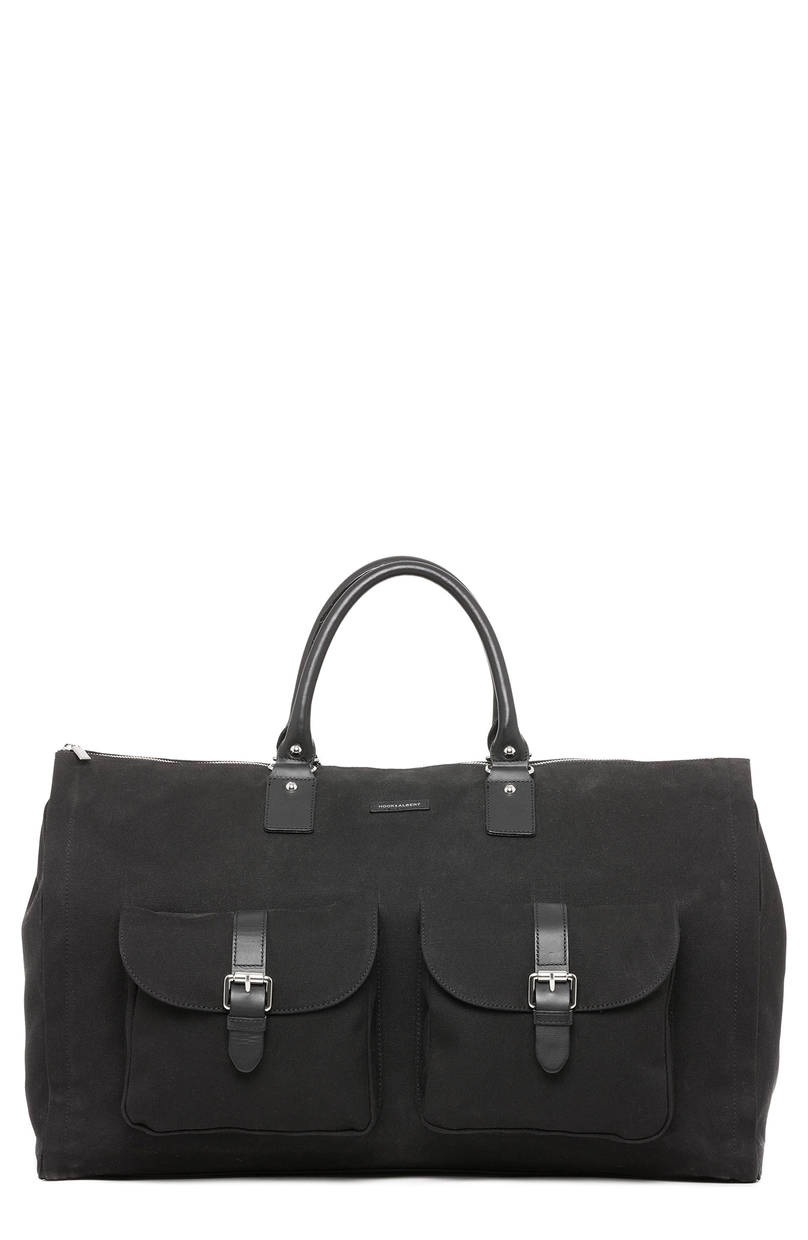 HOOK + ALBERT Canvas Garment/Duffel Bag