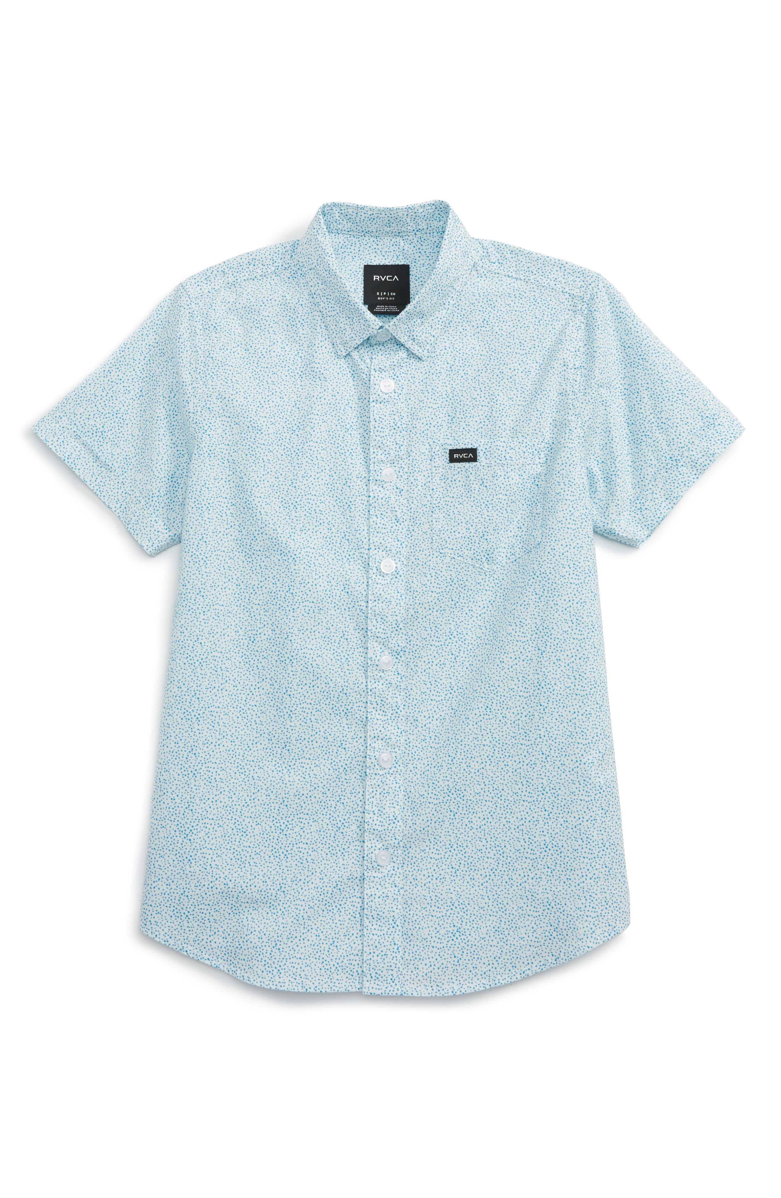 RVCA Speckles Woven Shirt (Big Boys)