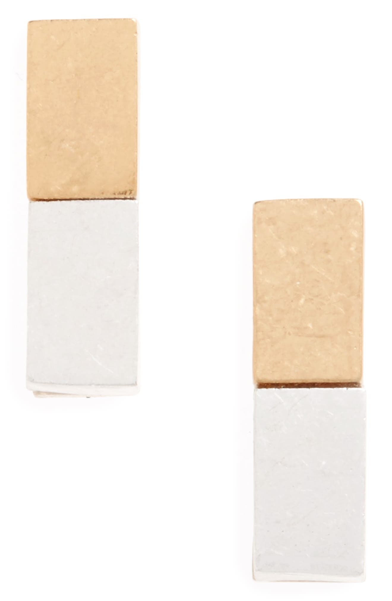 BP. Rectangle Stud Earrings