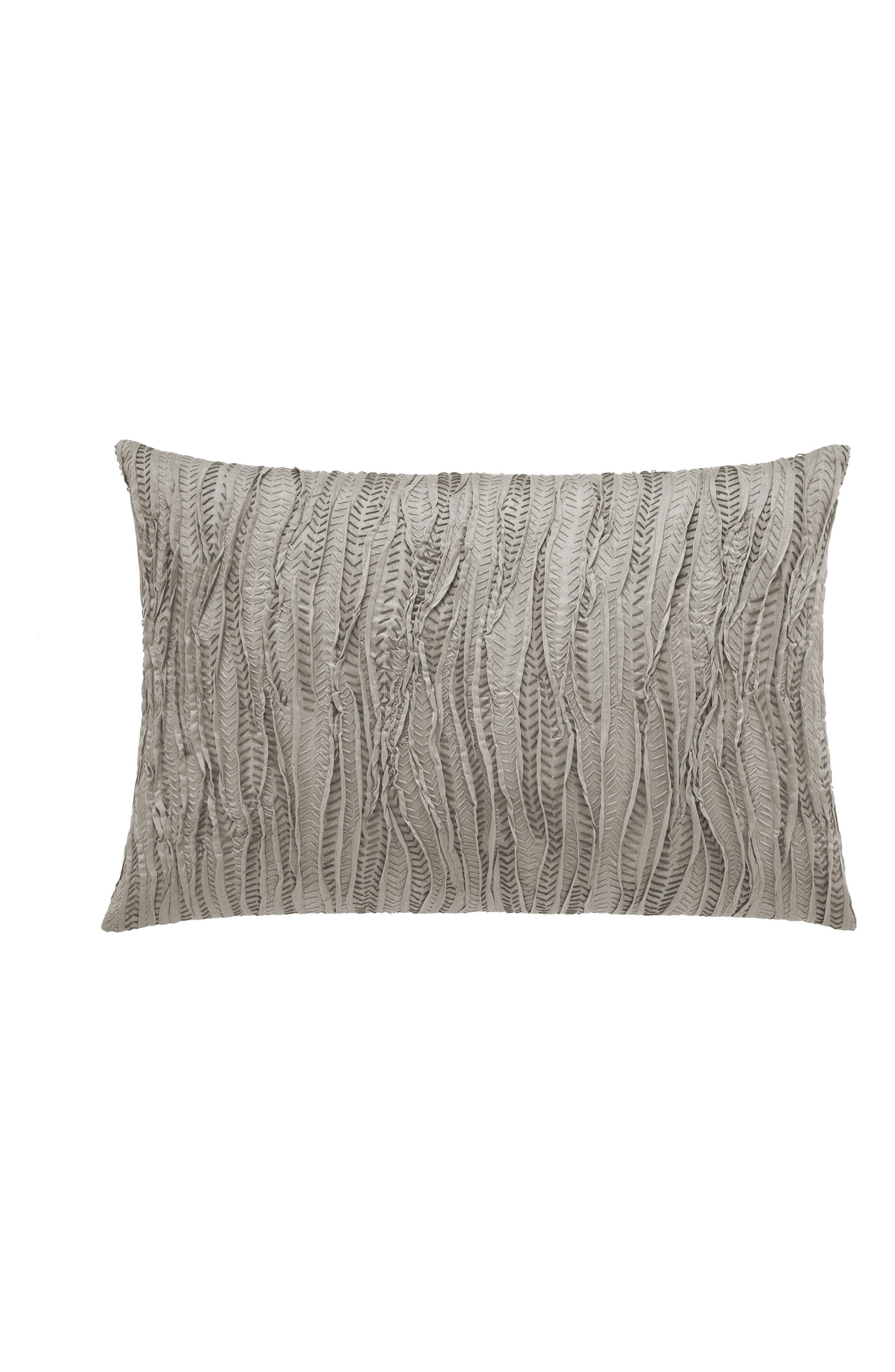 Vera Wang Lux Marble Shibori Breakfast Accent Pillow