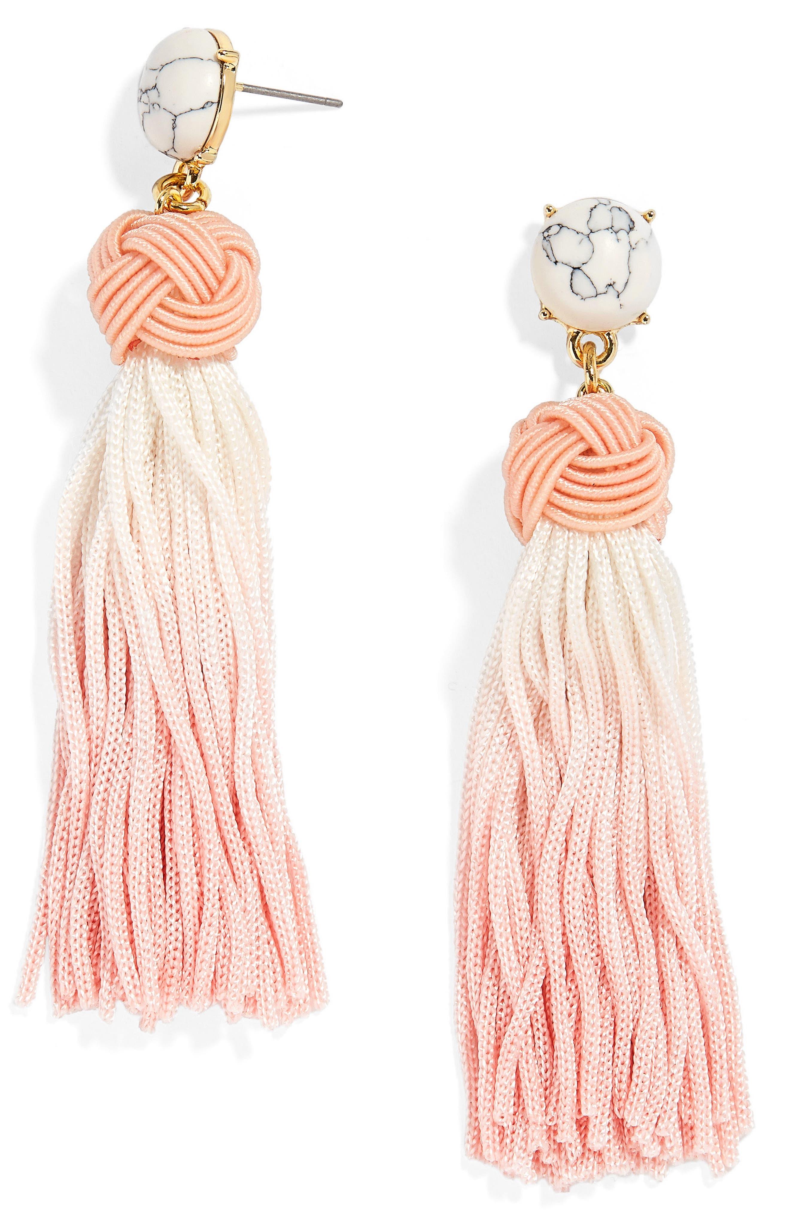 BaubleBar Sarina Ombré Tassel Earrings