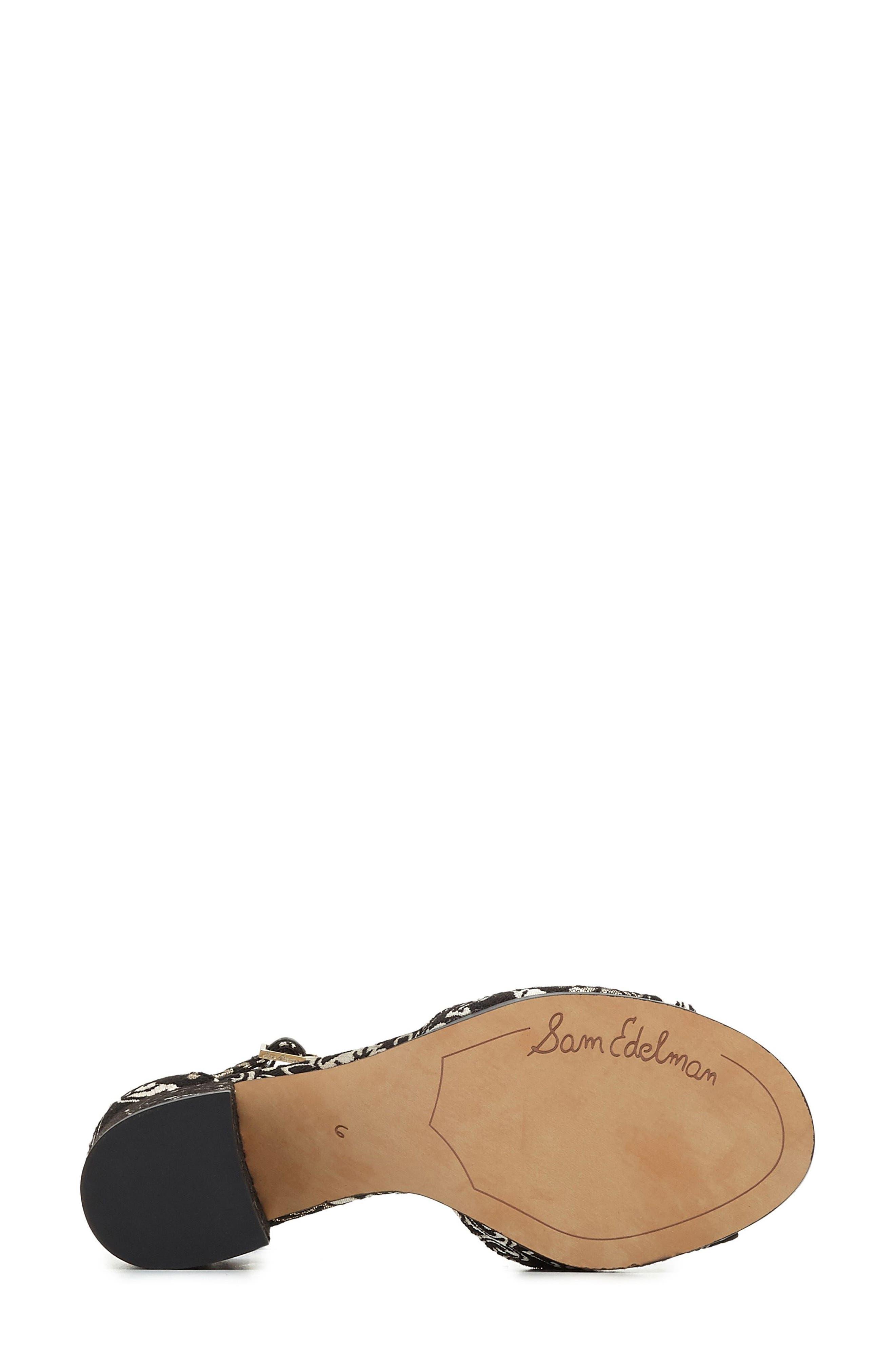 Alternate Image 6  - Sam Edelman Susie d'Orsay Ankle Strap Sandal (Women)