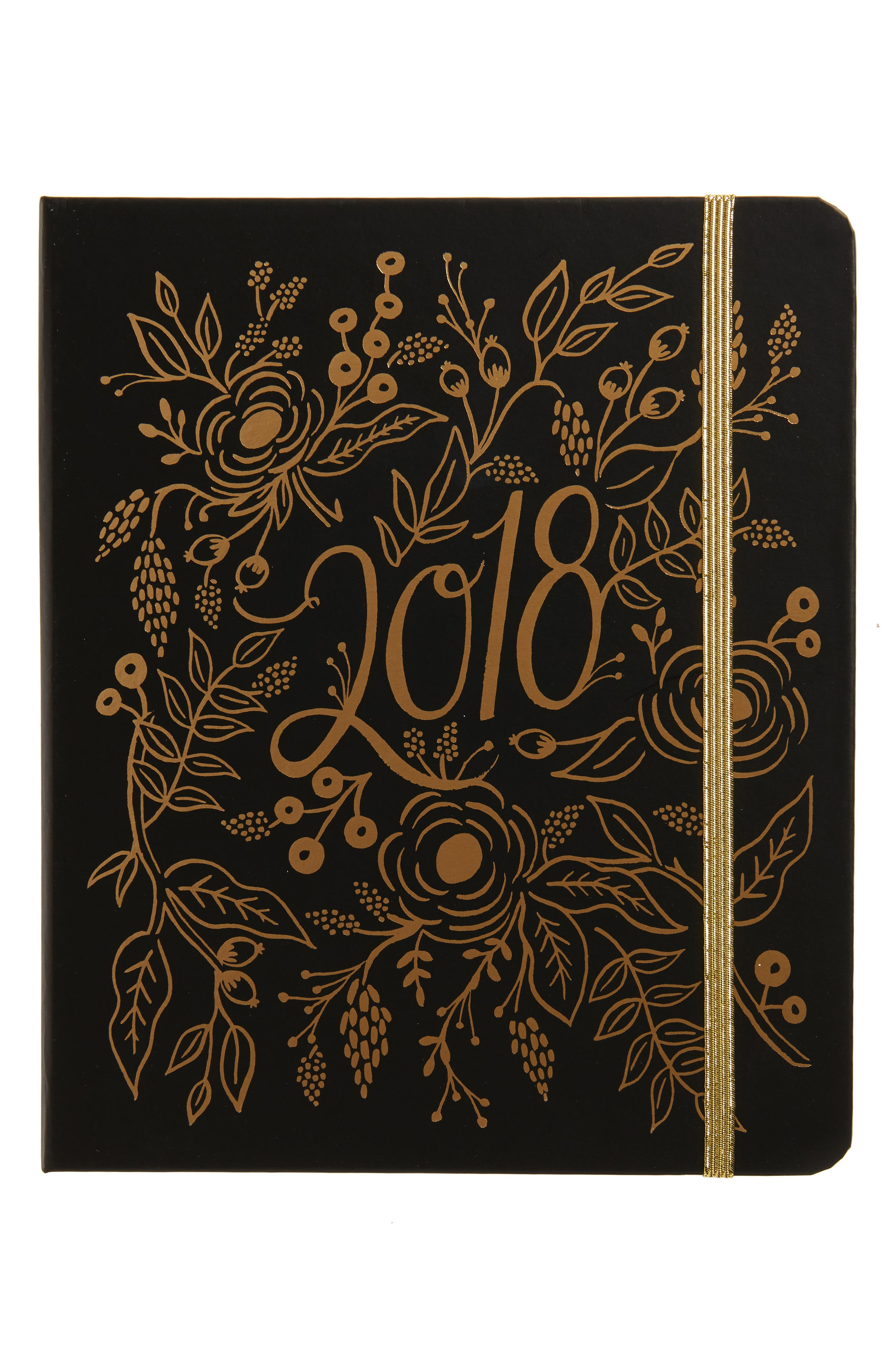 Rifle Paper Co. 2018 Golden Foil 17-Month Planner