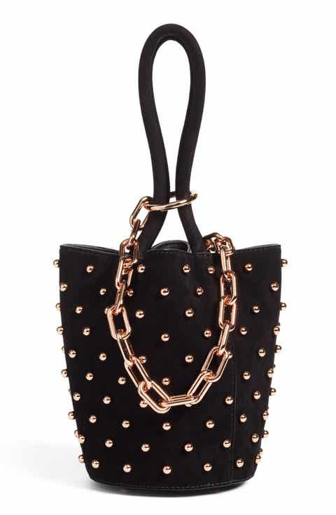 Alexander Wang Mini Roxy Studded Suede Bucket Bag (Nordstrom Exclusive)
