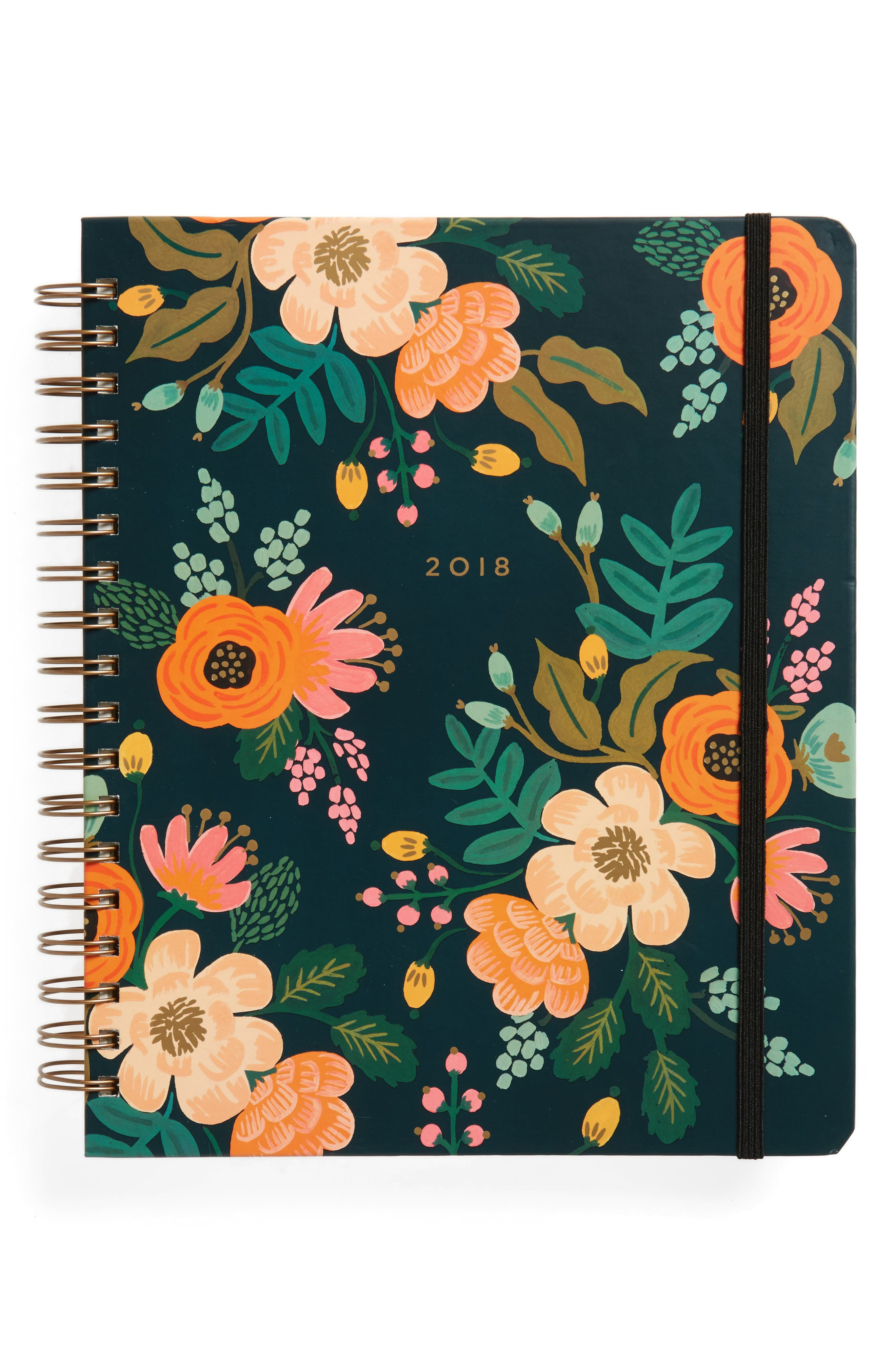 Rifle Paper Co. 2018 Lively Spiral 17-Month Planner