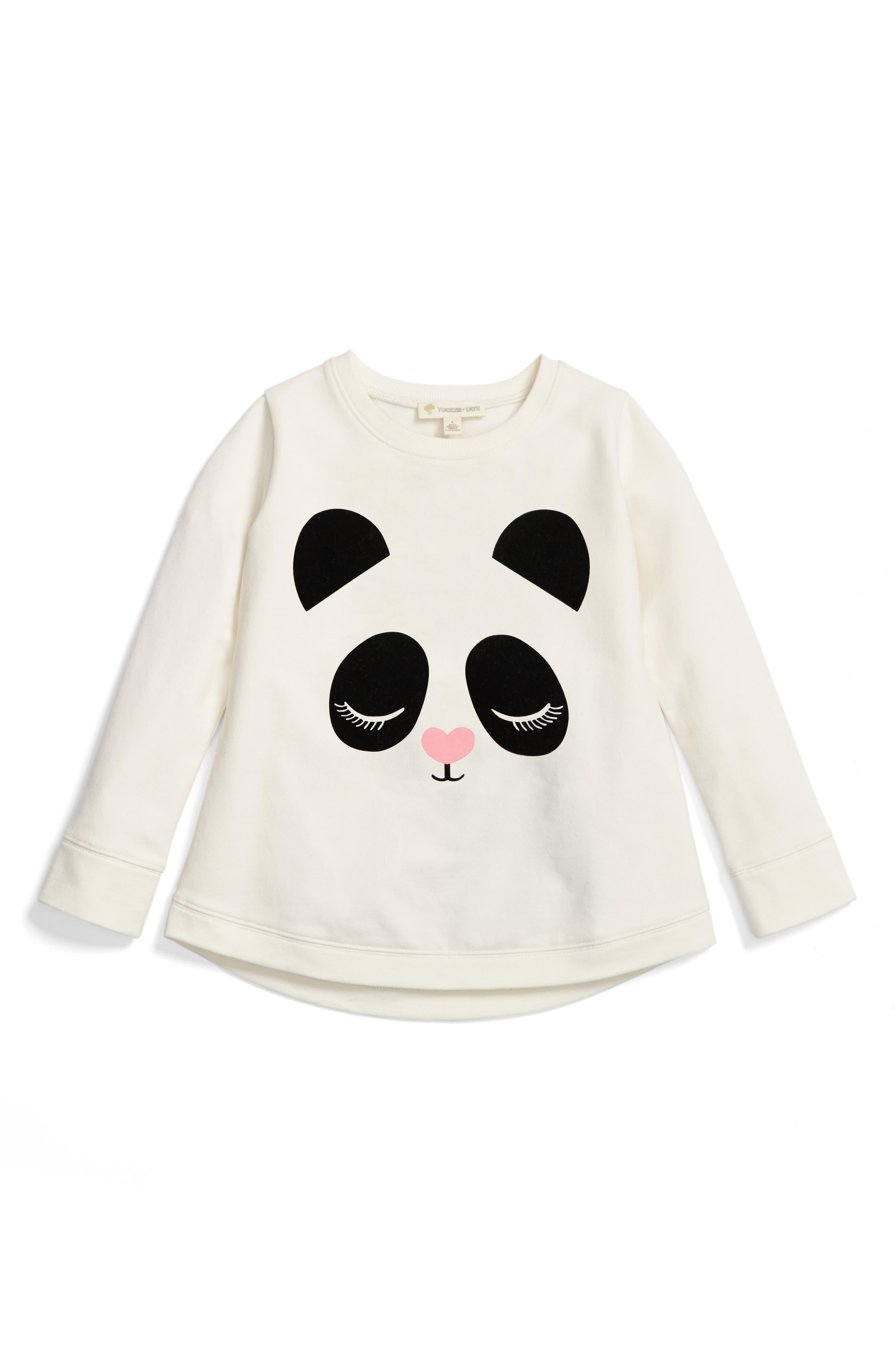 Tucker + Tate Graphic Fleece Tunic (Toddler Girls, Little Girls & Big Girls)