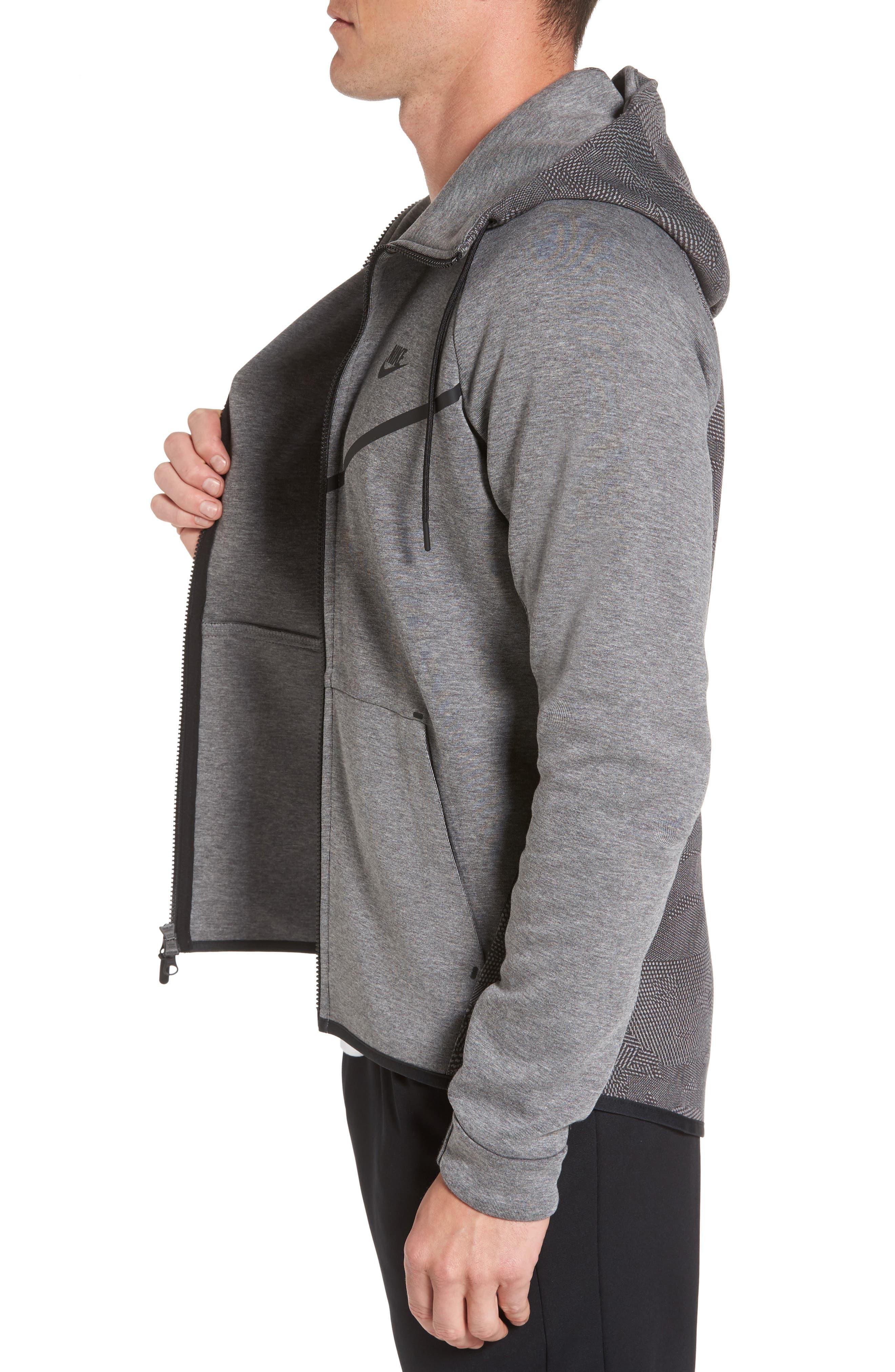 Alternate Image 4  - Nike Sportswear Tech Fleece Windrunner Hoodie