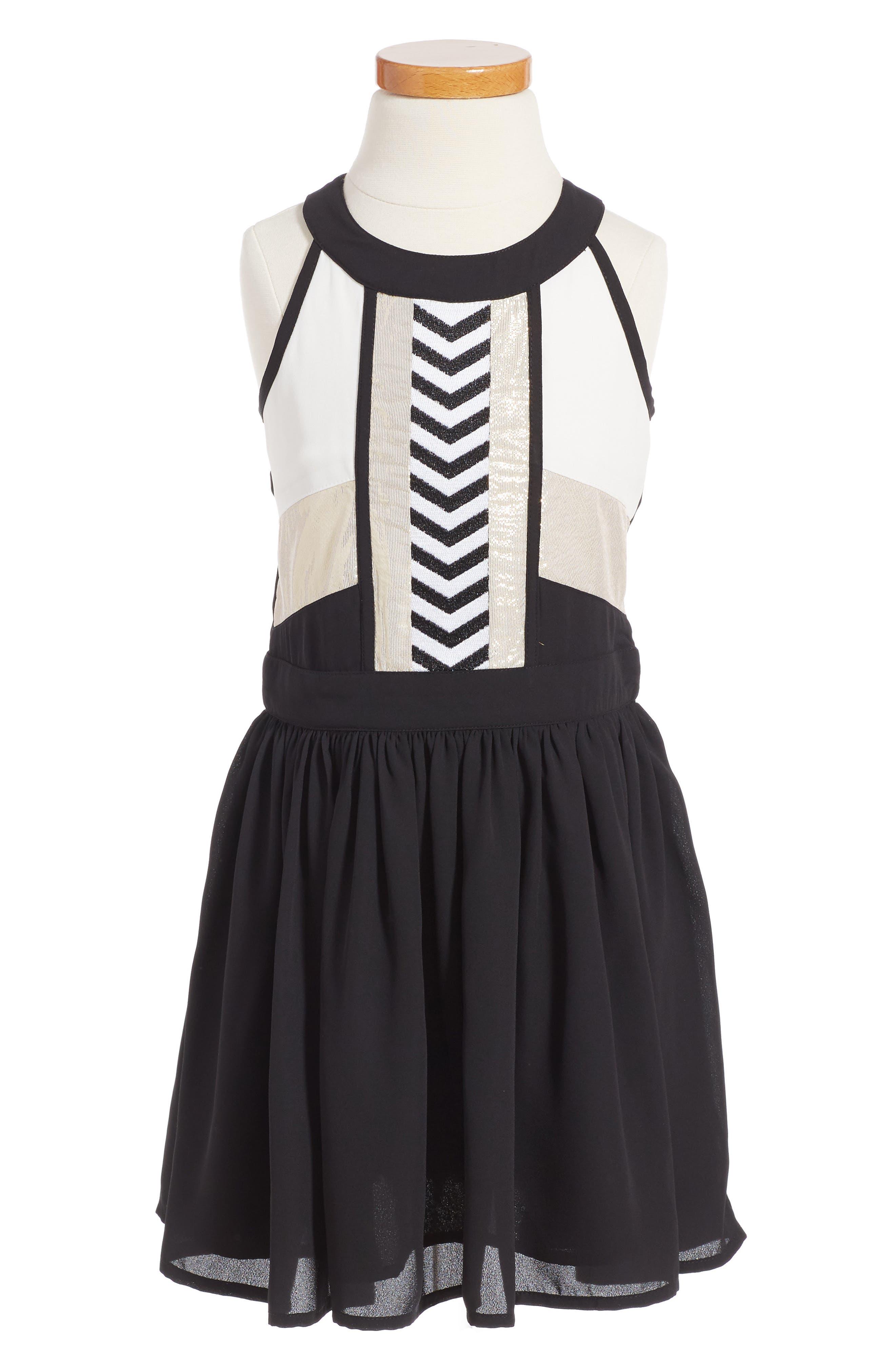 Bardot Junior Goldie Fit & Flare Dress (Big Girls)
