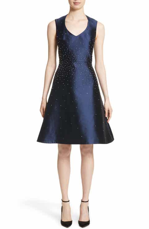 Rubin Singer Embellished A-Line Dress