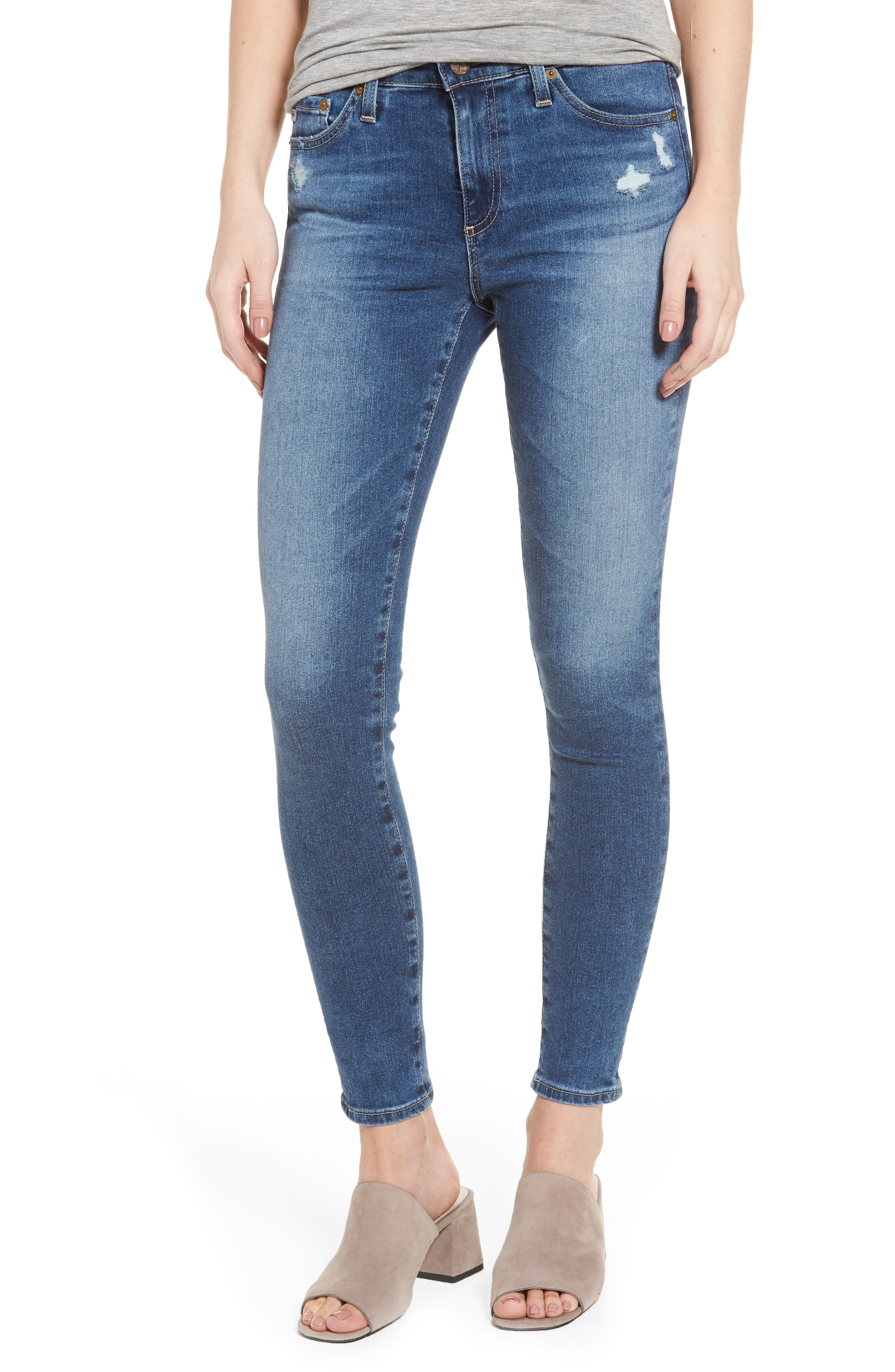 AG Middi Ankle Skinny Jeans (8 Years Infamy)