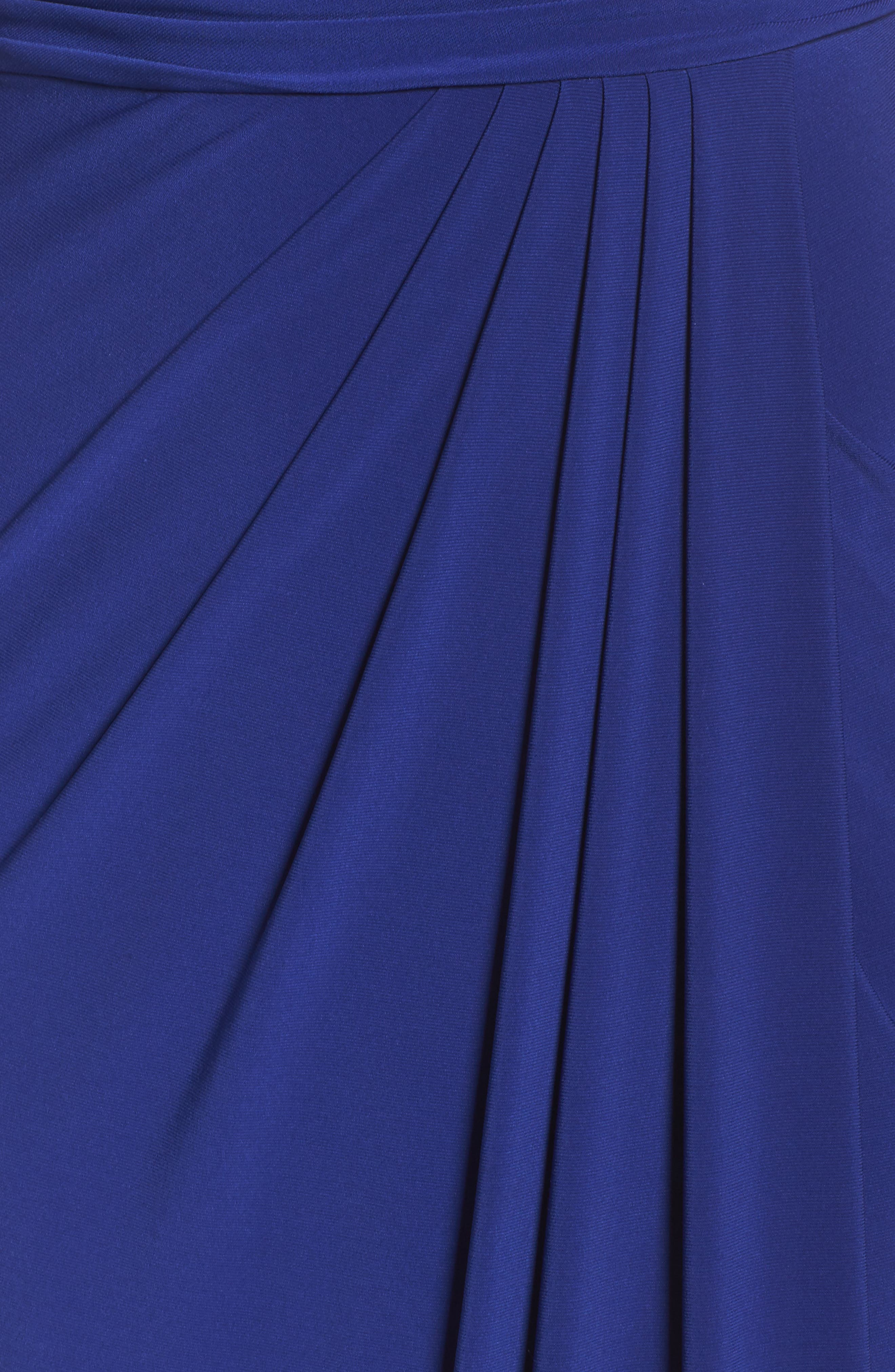 Alternate Image 5  - Adrianna Papell Jersey Gown
