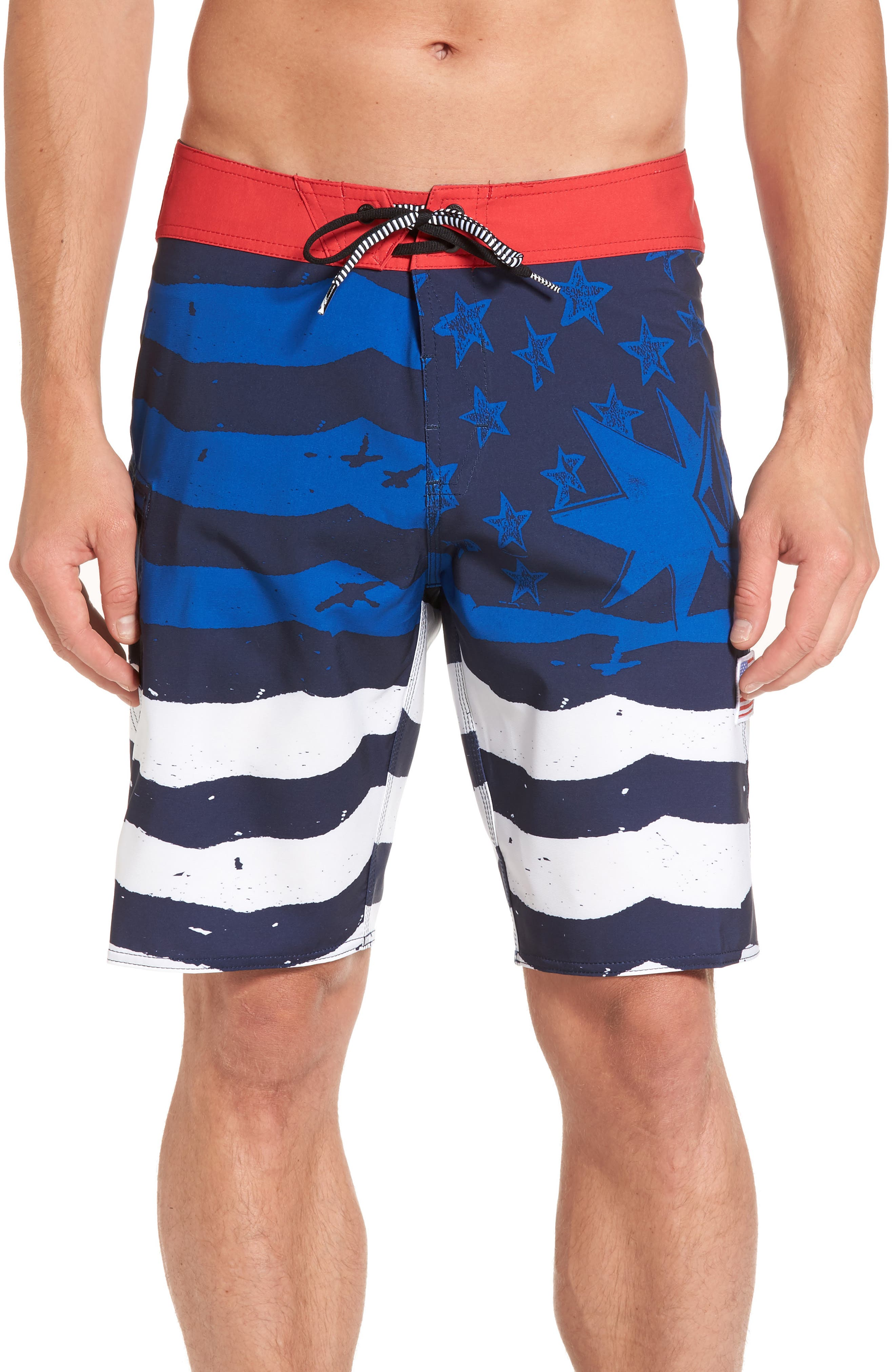 Volcom 4th of July Mod-Tech Board Shorts