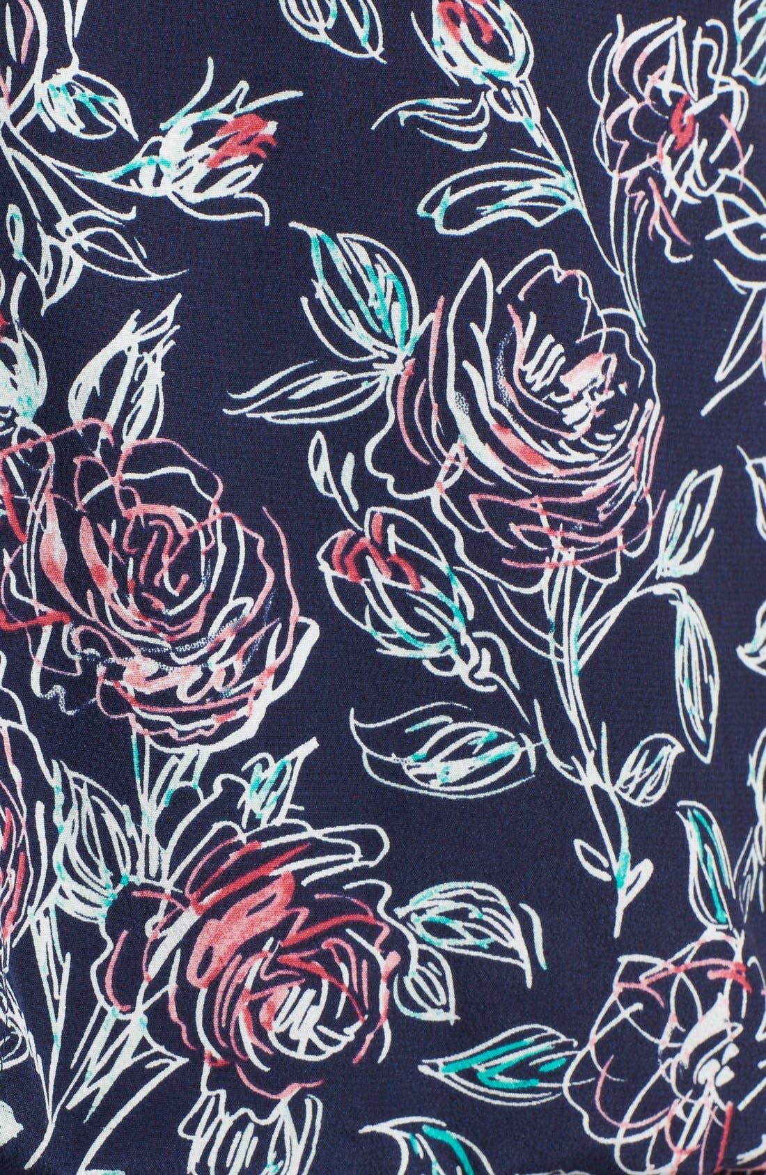 Alternate Image 3  - Joie 'Nanon' Print Silk Blouson Dress