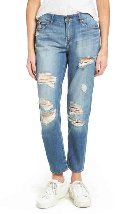 Articles of Society Carrie Ripped Crop Jeans