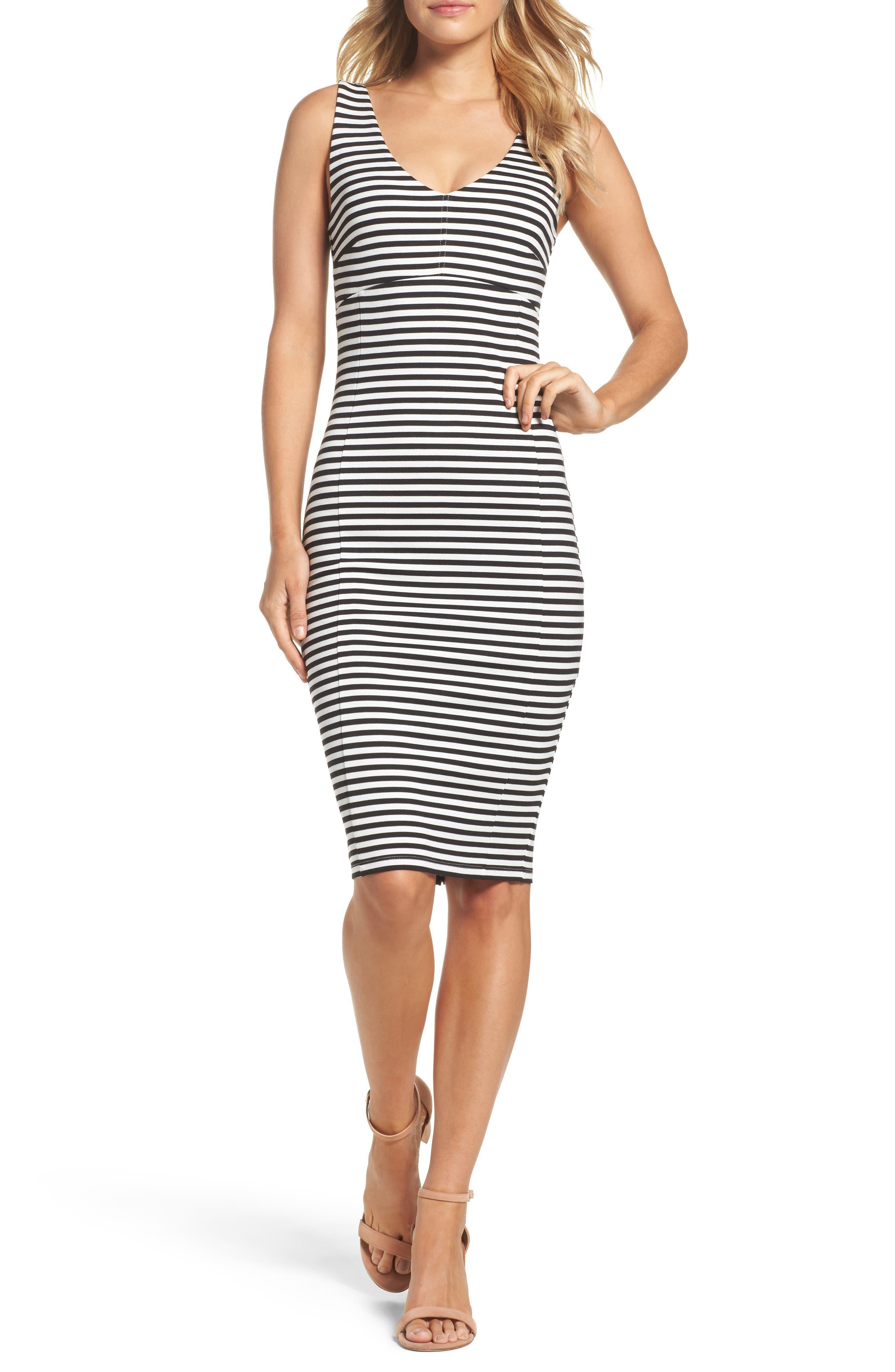 Felicity & Coco Stripe Sheath Dress (Nordstrom Exclusive)