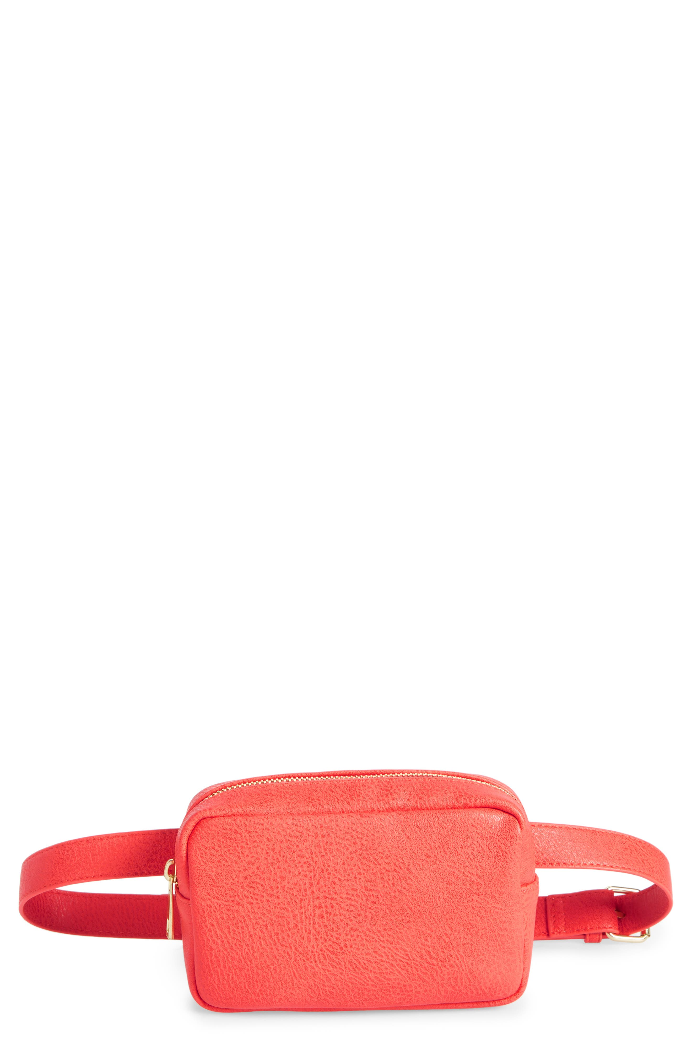 BP. Faux Leather Camera Belt Bag