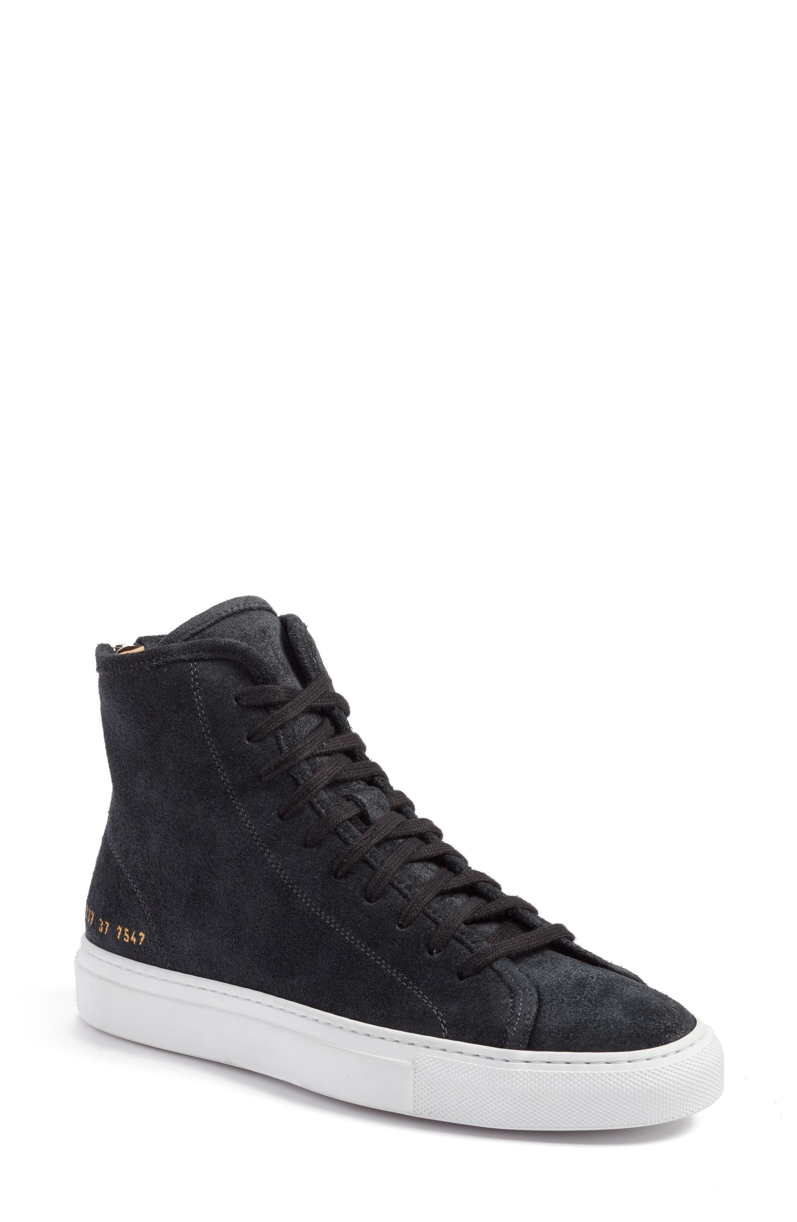 Common Projects Tournament High Top Sneakers (Women)