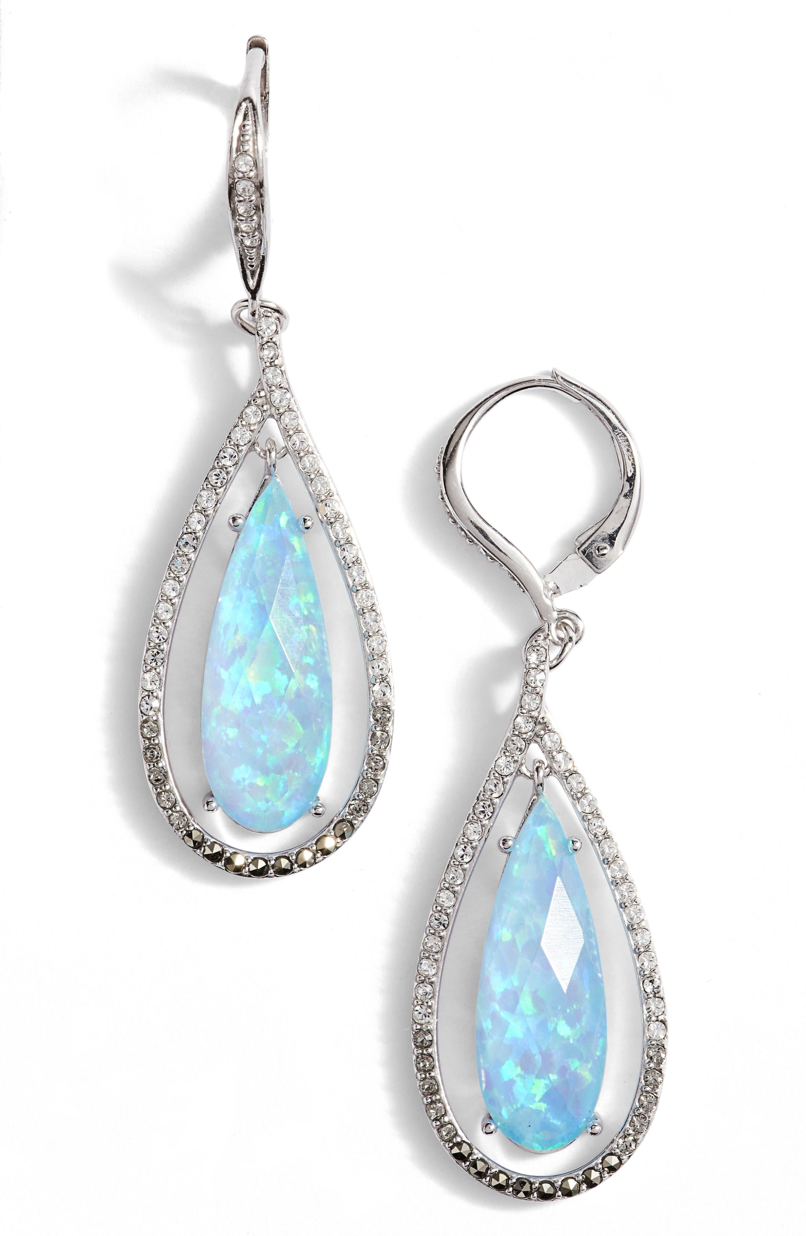 Judith Jack Teardrop Earrings