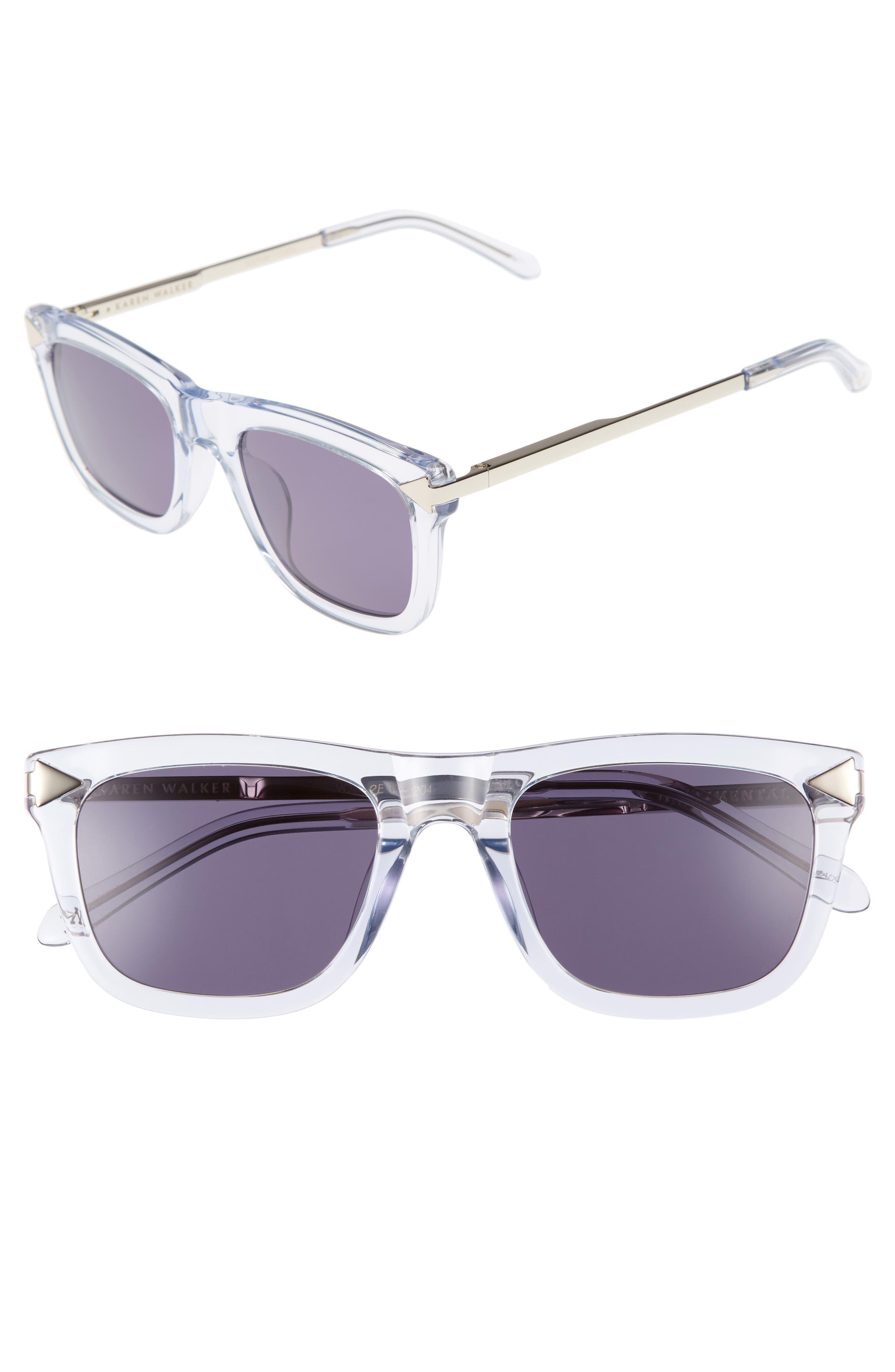 Karen Walker x Monumental Voltaire 51mm Polarized Sunglasses