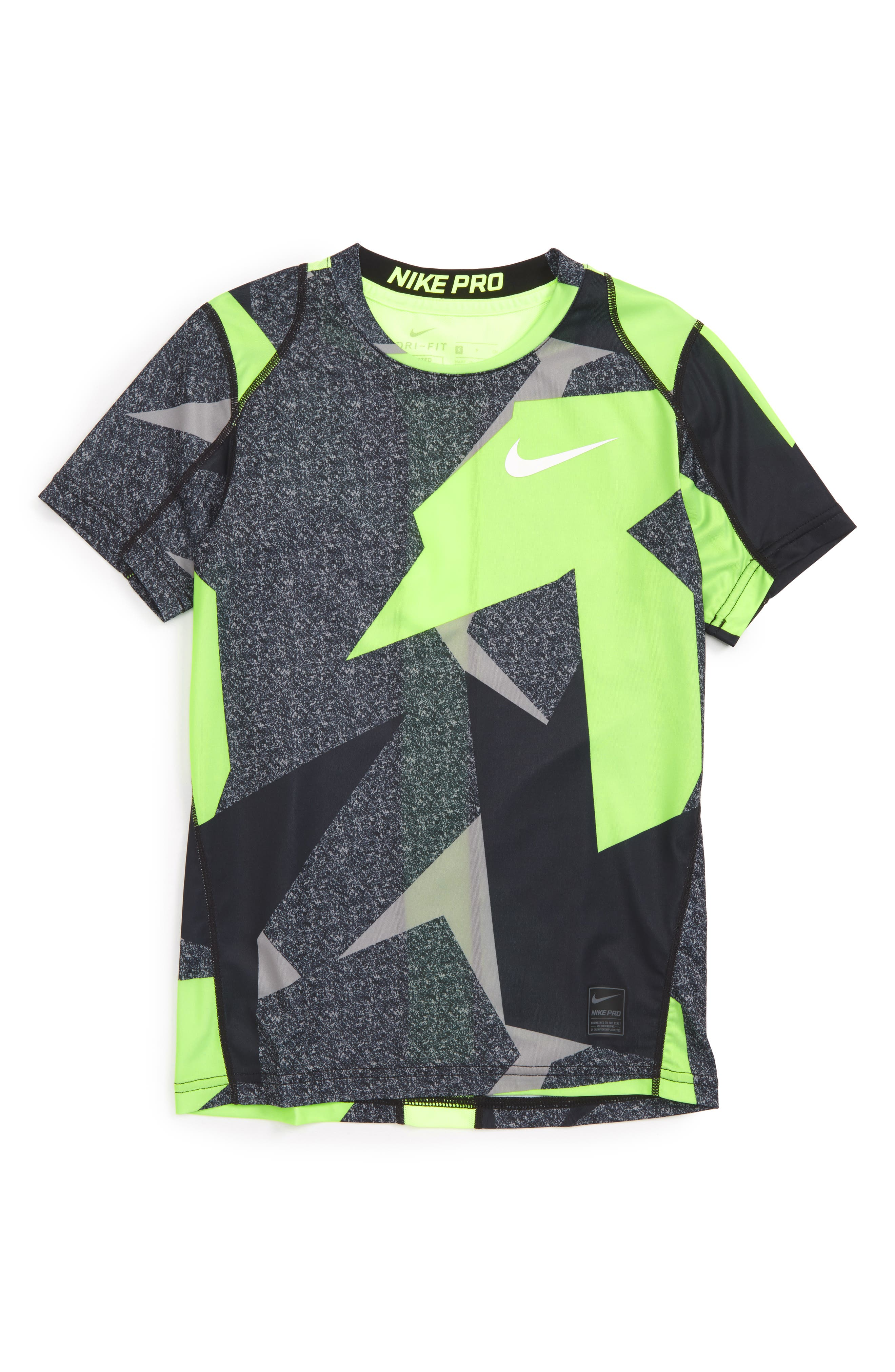Nike Pro Cool Fitted T-Shirt (Little Boys & Big Boys)